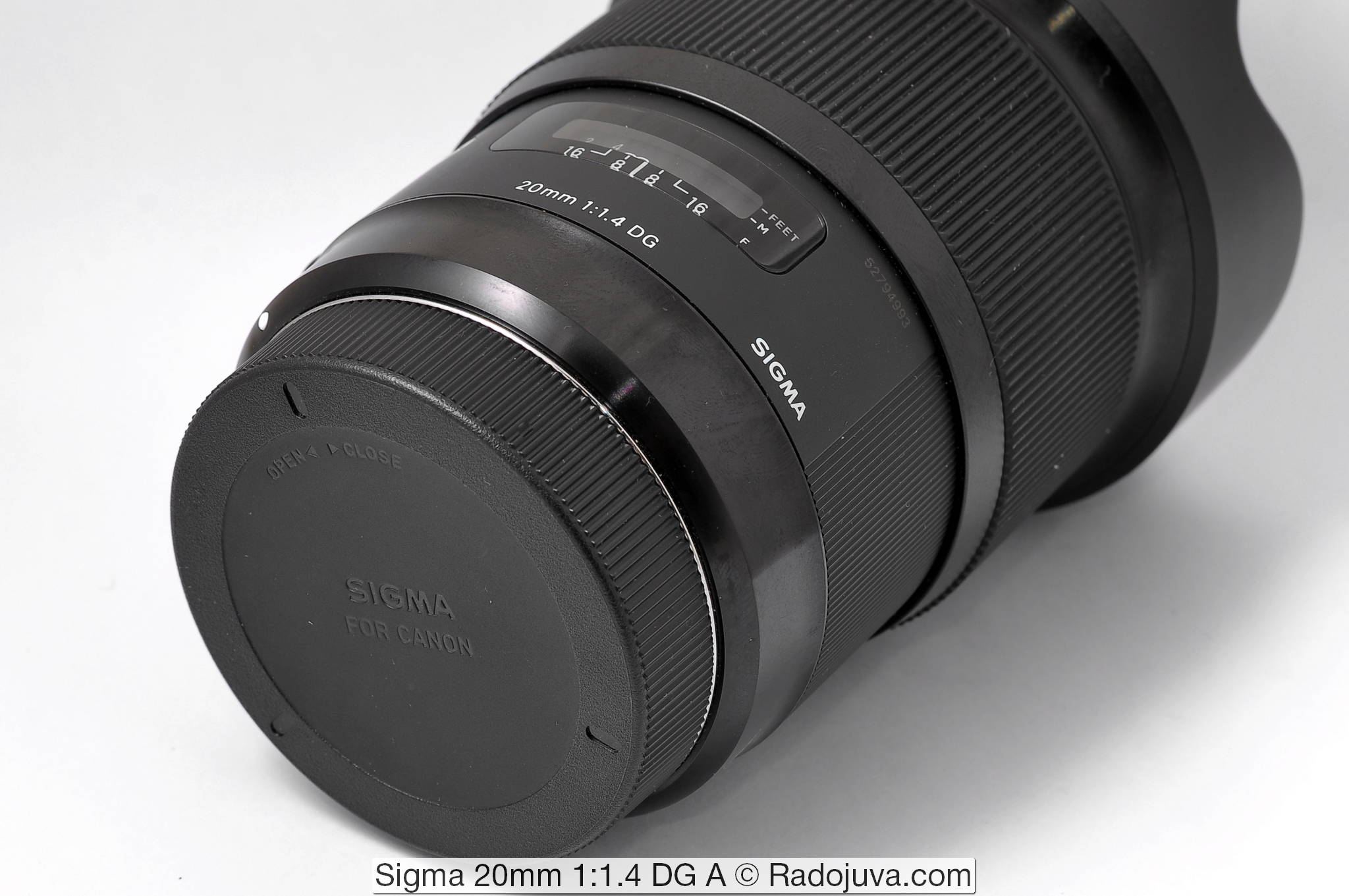 Sigma 20mm 1:1.4 DG Art