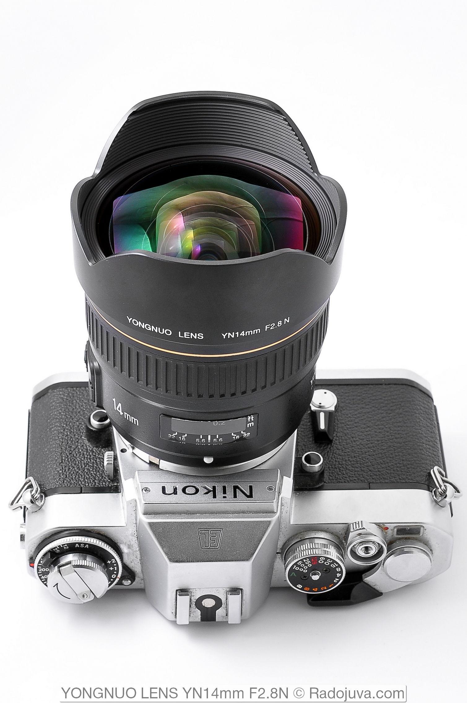 YONGNUO LENS YN 14mm F 2.8 N