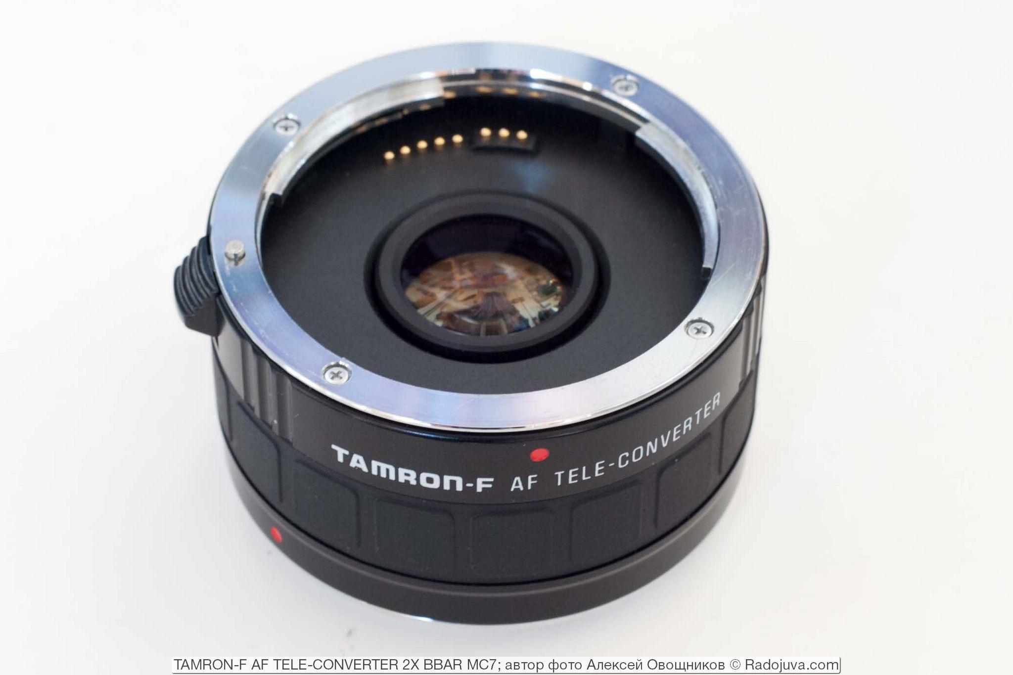 TAMRON-F AF TELE-CONVERTER 2X BBAR MC7