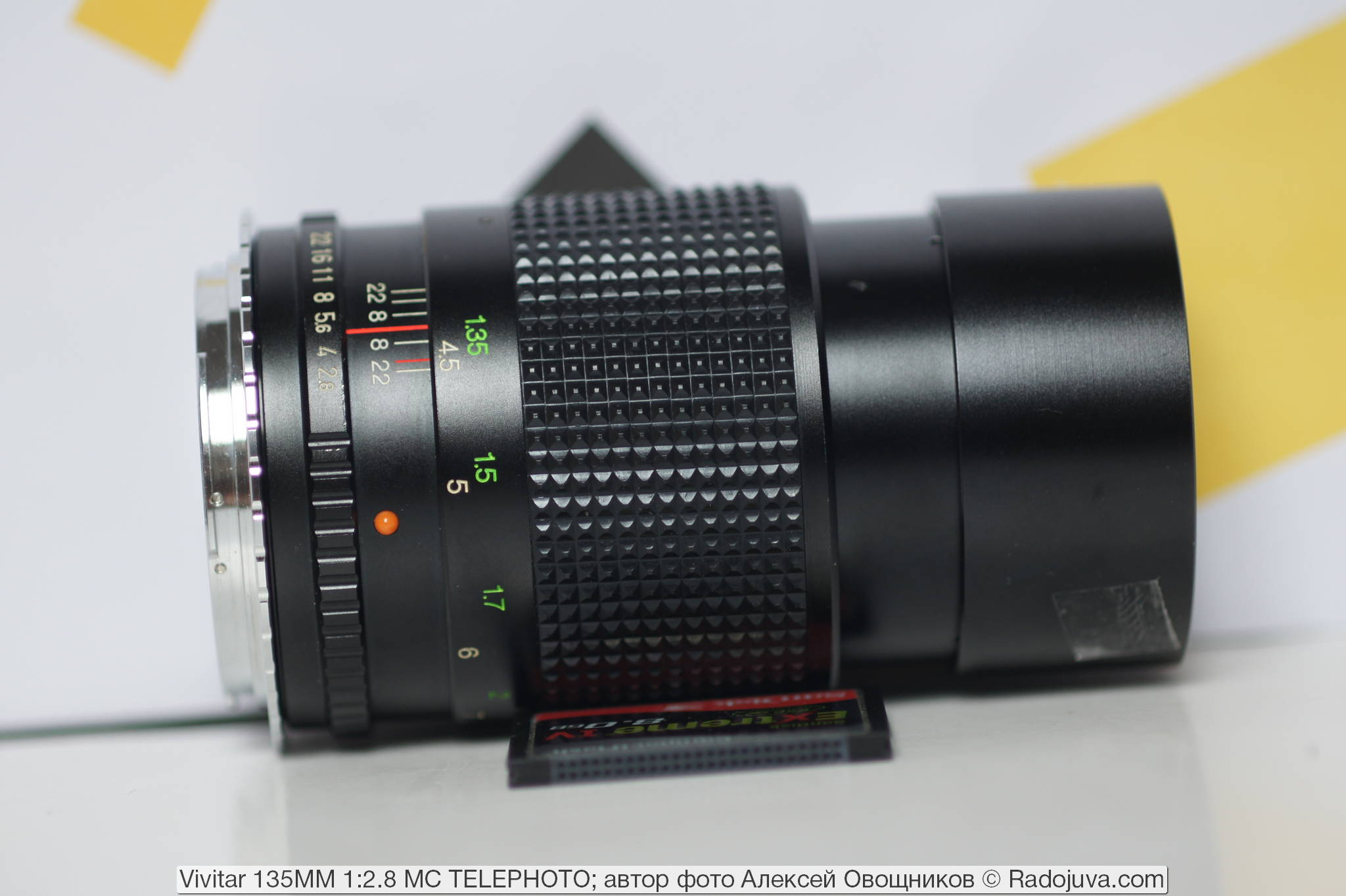 Vivitar 135MM 1:2.8 MC TELEPHOTO