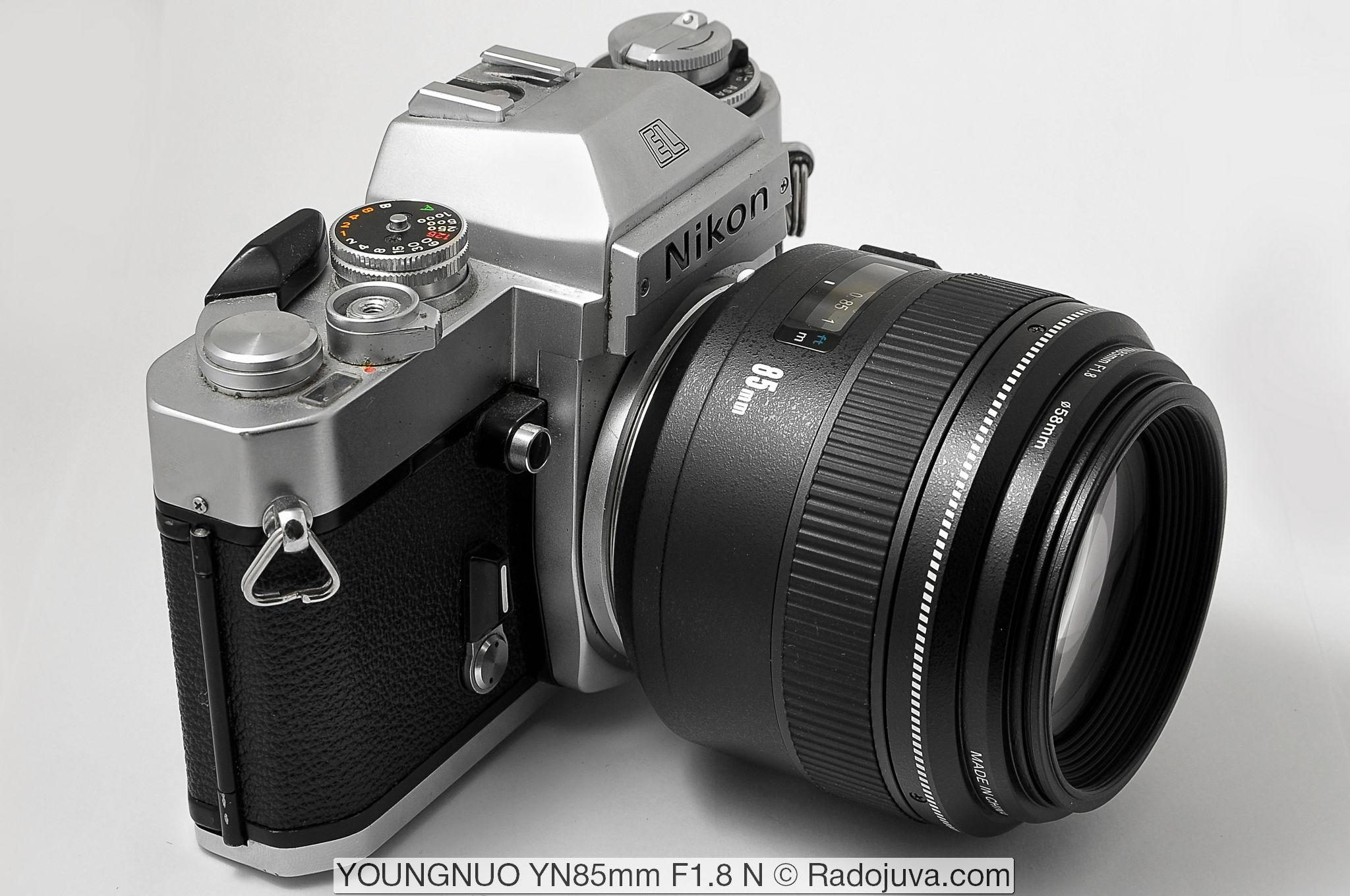 Yongnuo YN 85mm F1.8 N