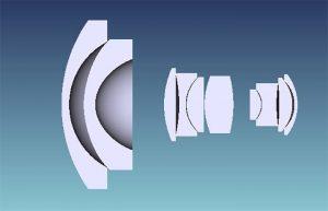 Оптическая схема 7artisans 12mm F2.8