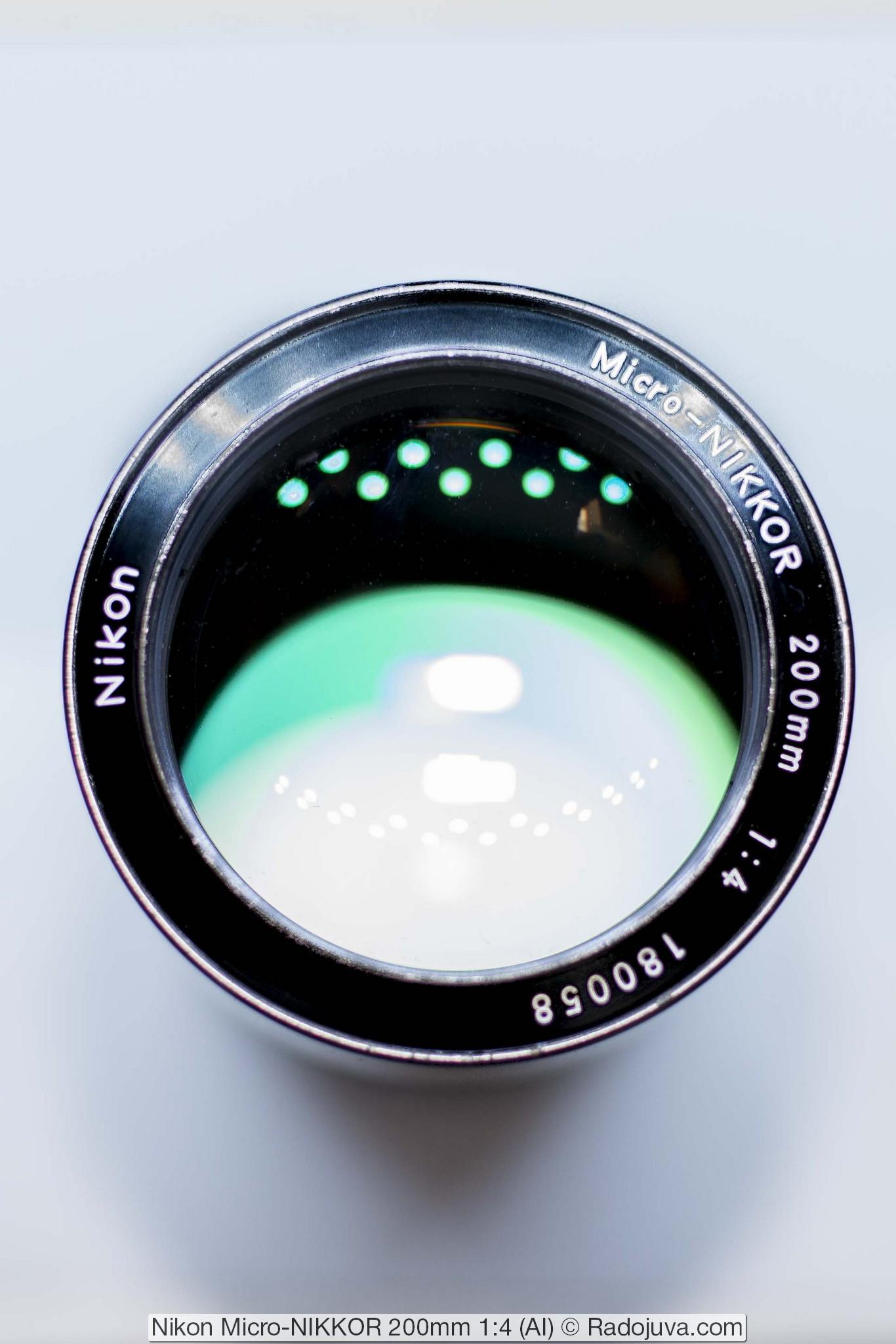 Nikon Micro-NIKKOR 200mm 1:4 (AI)