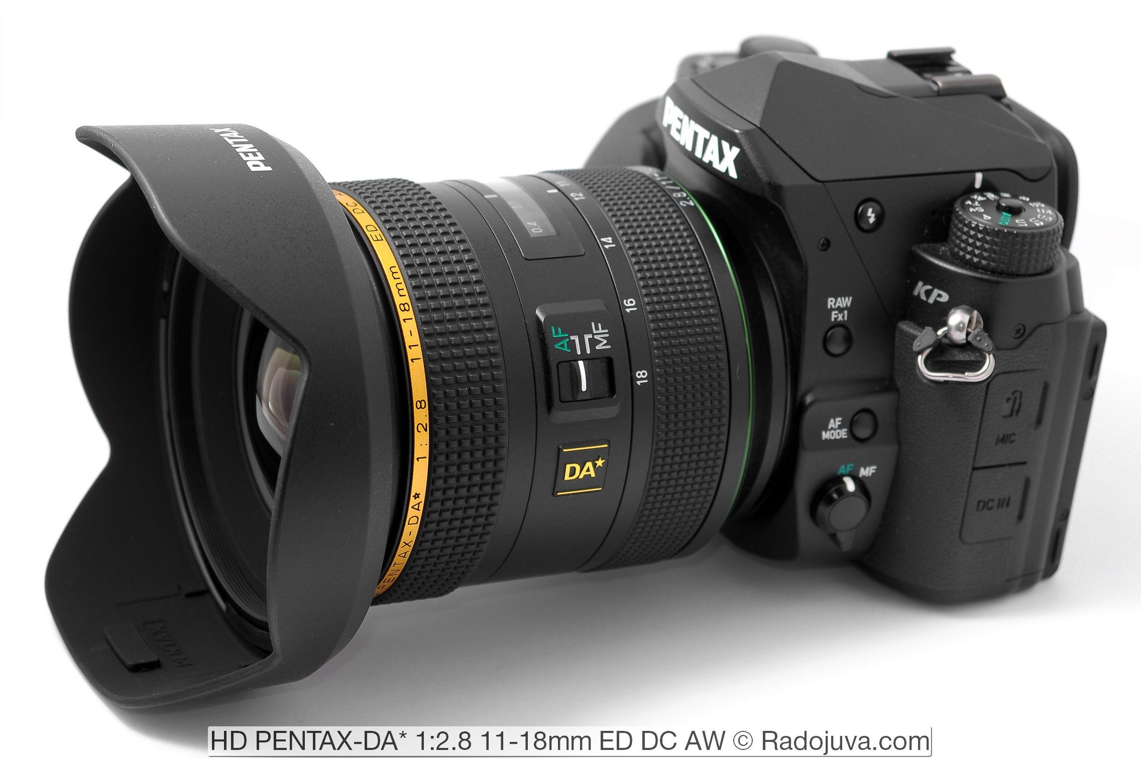 HD PENTAX-DA* 1:2.8 11-18mm ED DC AW