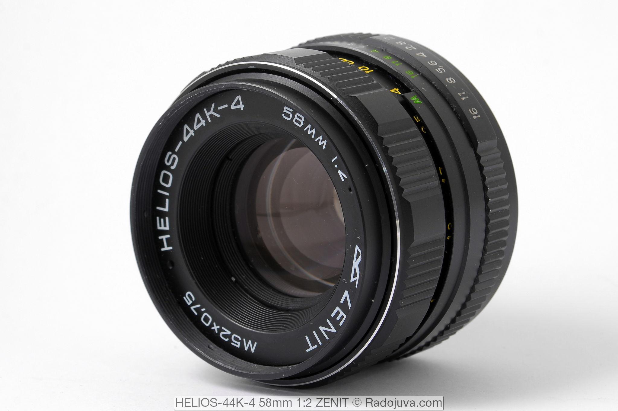 HELIOS-44K-4 58mm 1:2 с байонетом Pentax