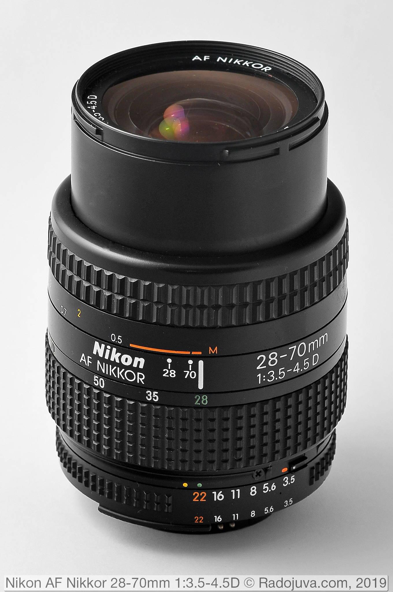 Тот самый Nikon AF Nikkor 28-70mm 1:3.5-4.5D