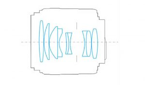 Оптическая схема Yongnuo YN 85mm F1.8 N