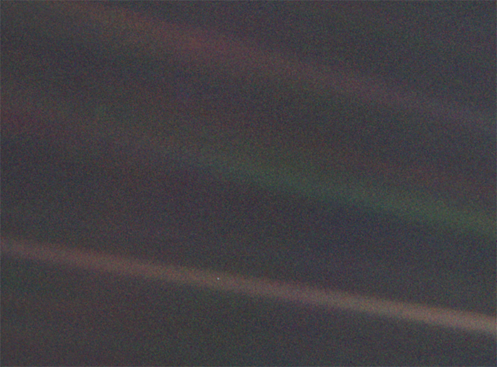 'Бледно-голубая точка' ('Pale Blue Dot')