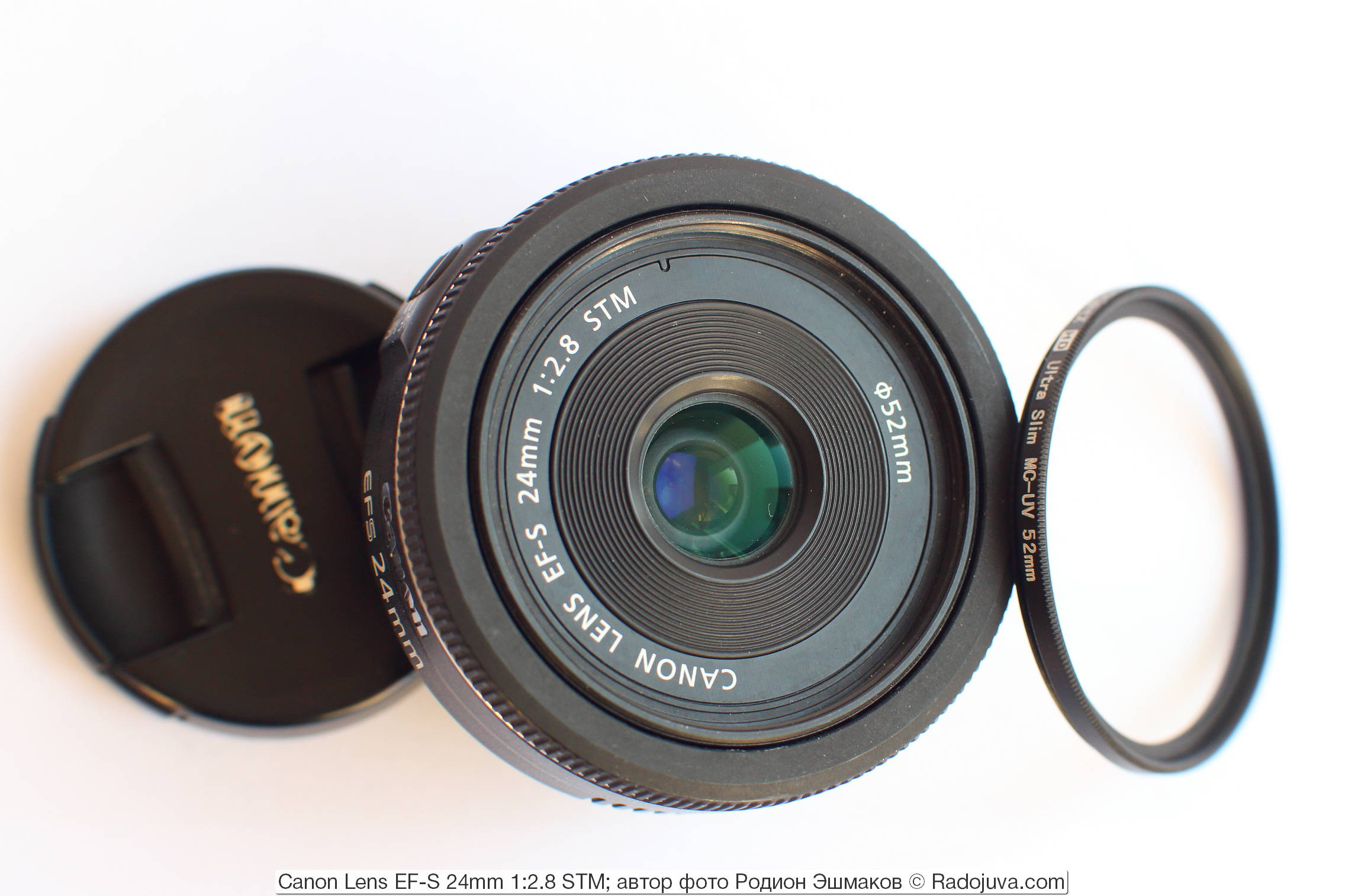 Canon Lens EF-S 24mm 1:2.8 STM