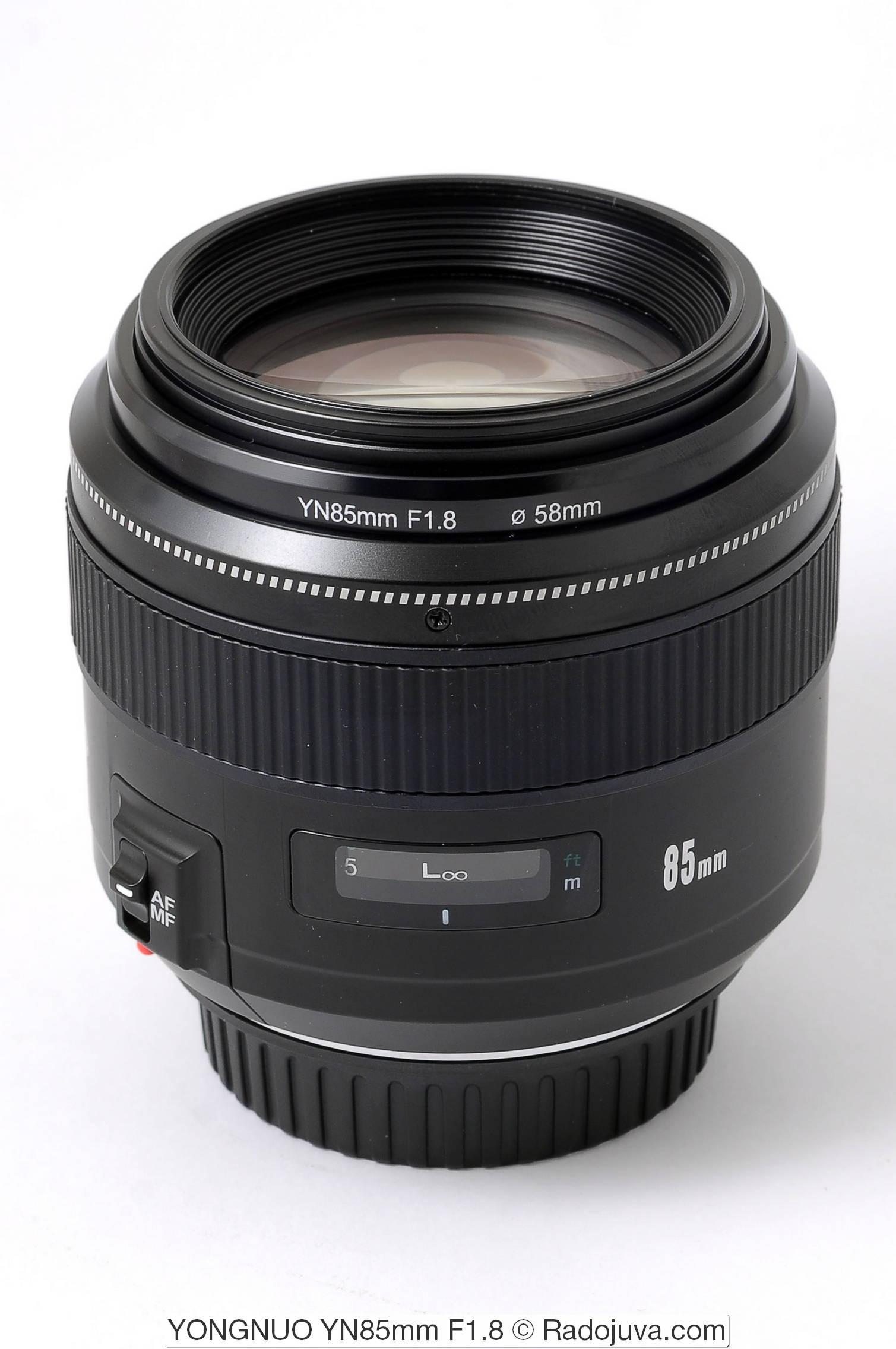 YONGNUO YN85mm F1.8 (для Canon EF)