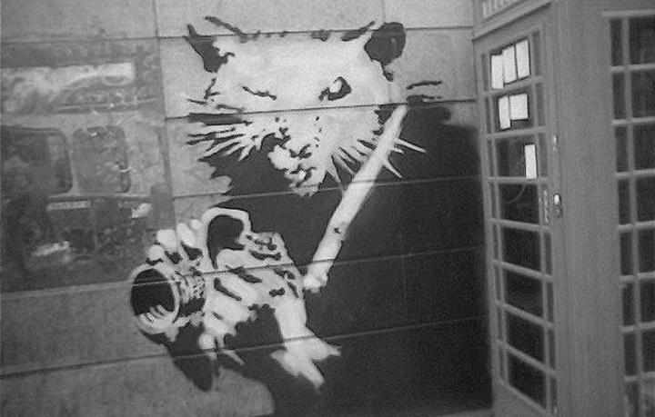 Творчество от banksy