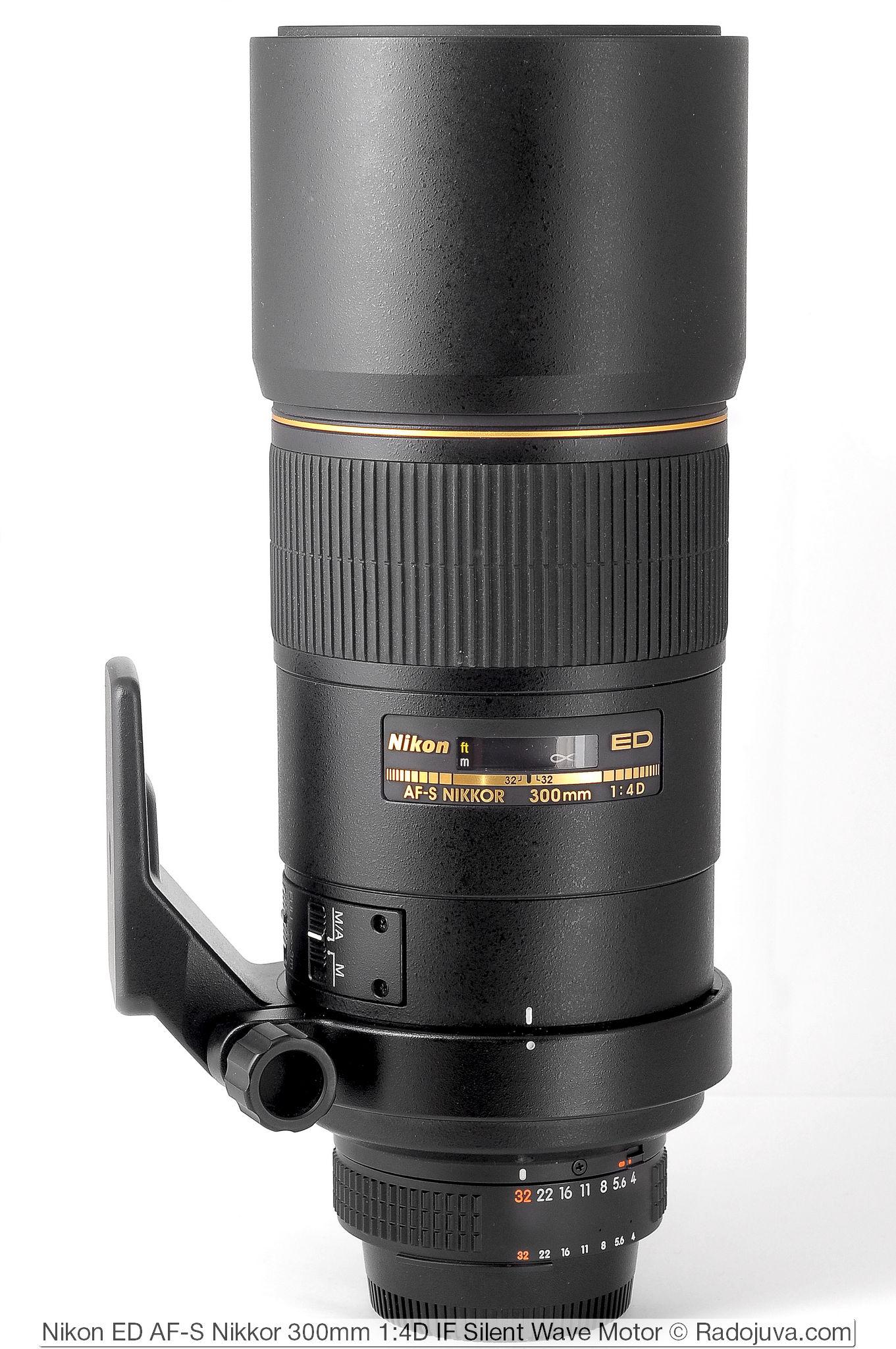 Nikon ED AF-S Nikkor 300mm 1:4D IF Silent Wave Motor