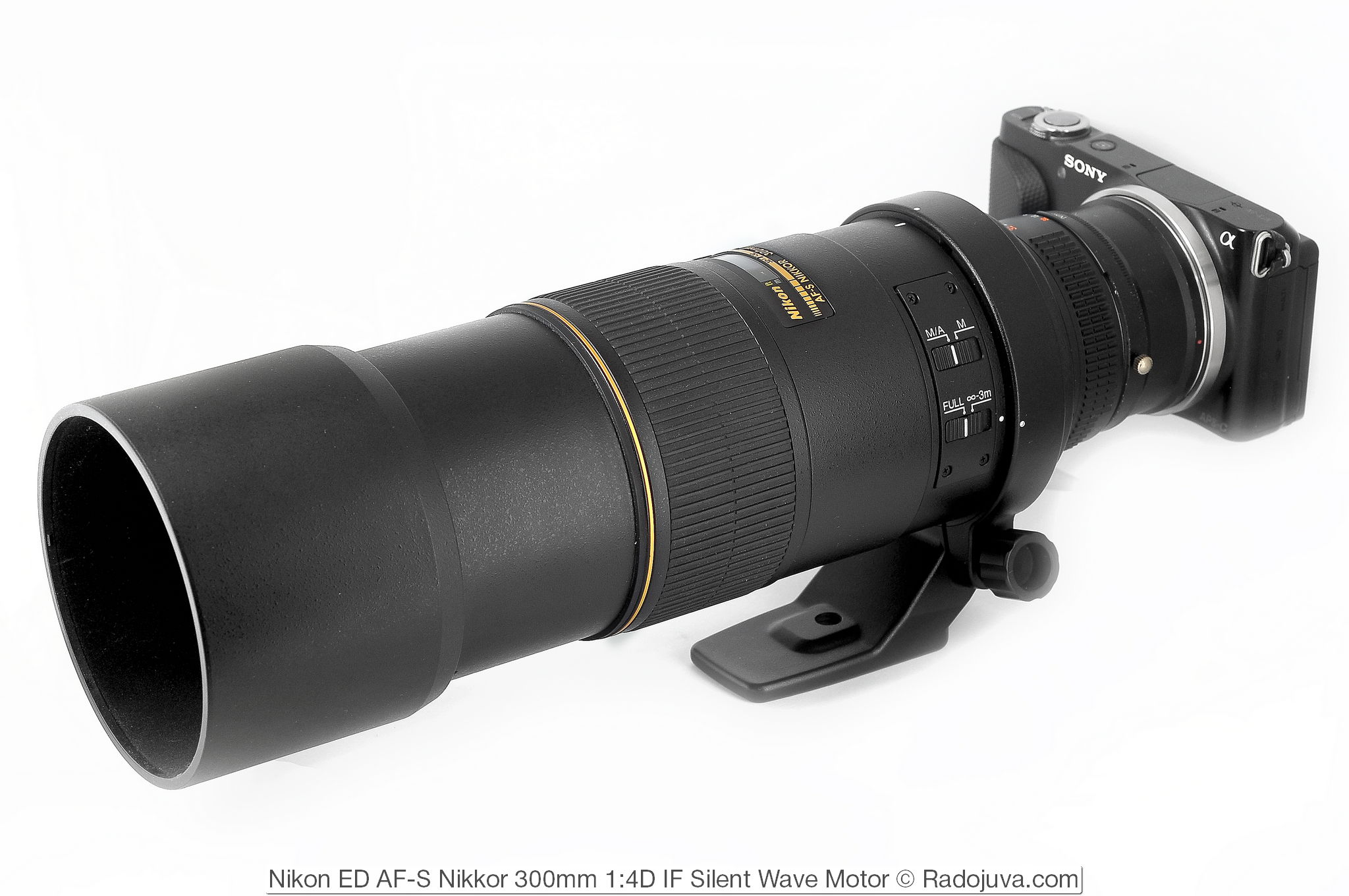 Nikon ED AF-S Nikkor 300mm 1:4D IF Silent Wave Motor