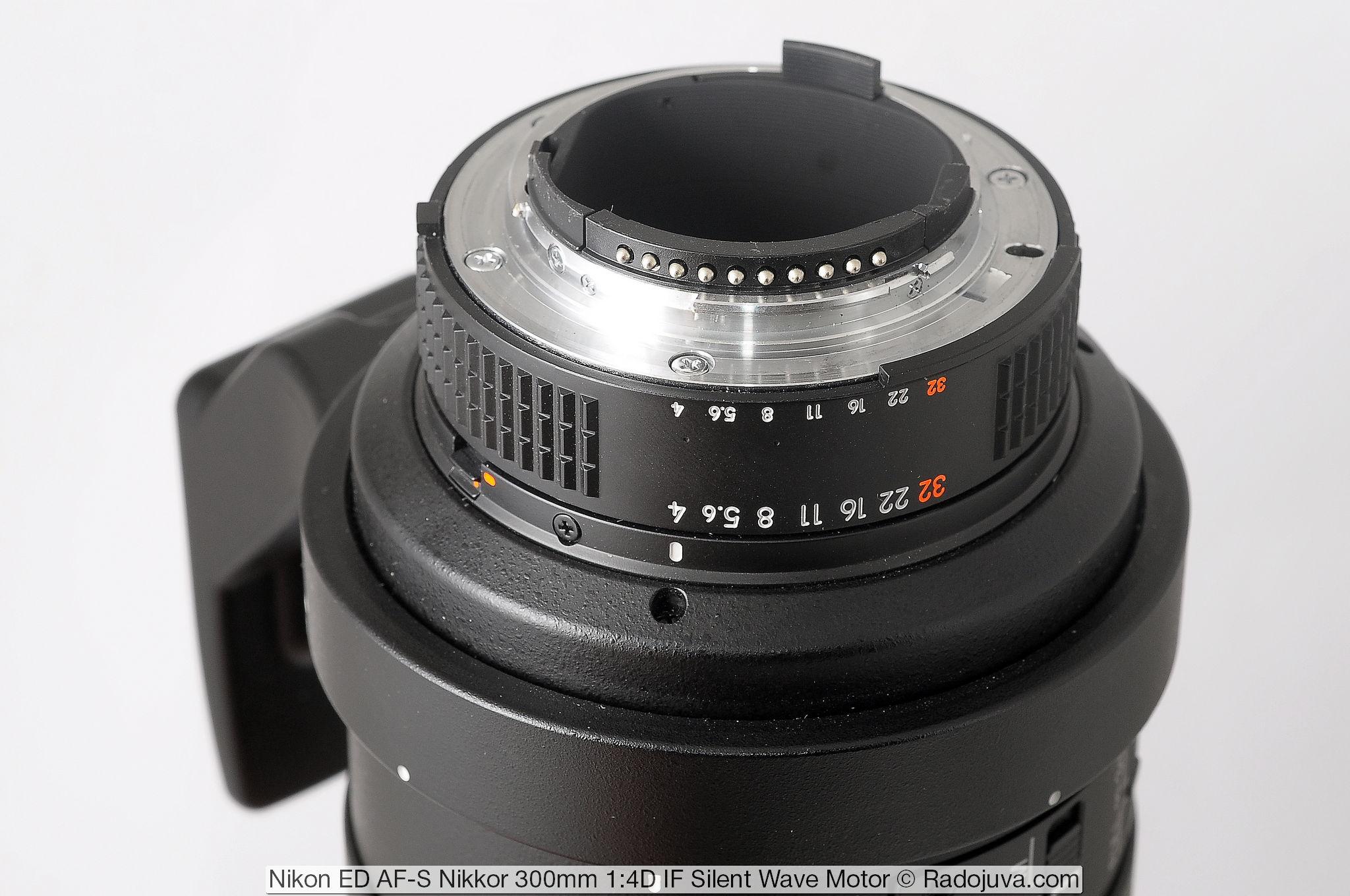Nikon AF-S 300/4D