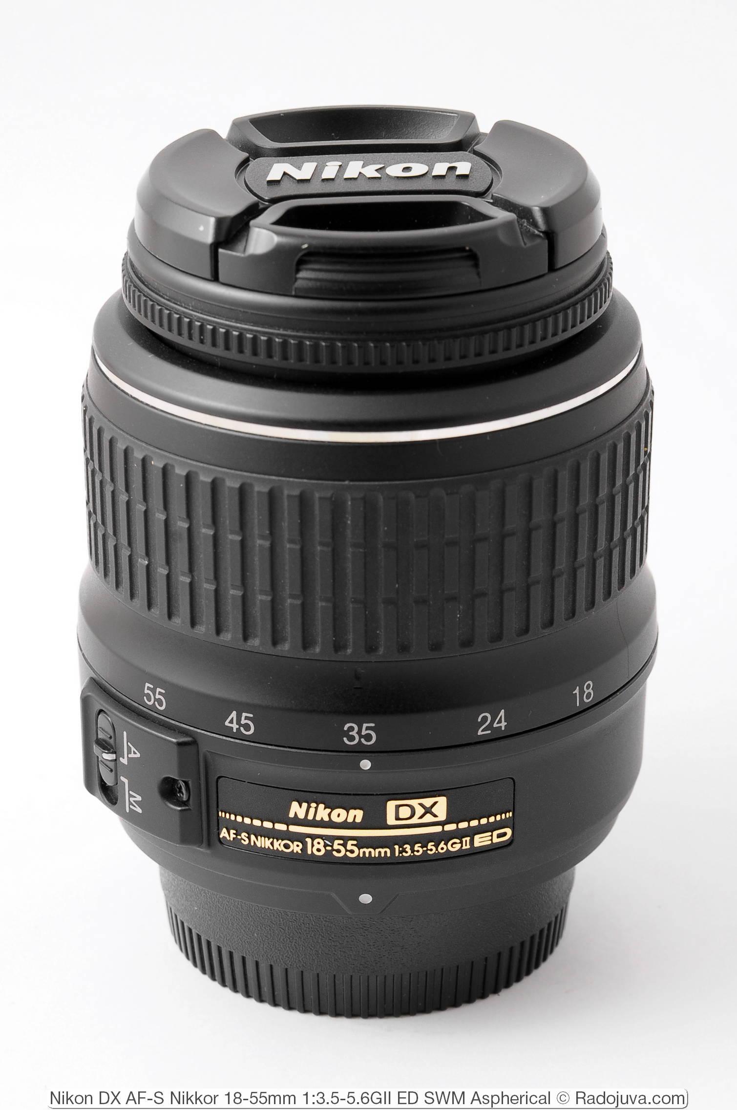 Nikon DX AF-S Nikkor 18-55mm 1:3.5-5.6GII ED SWM Aspherical