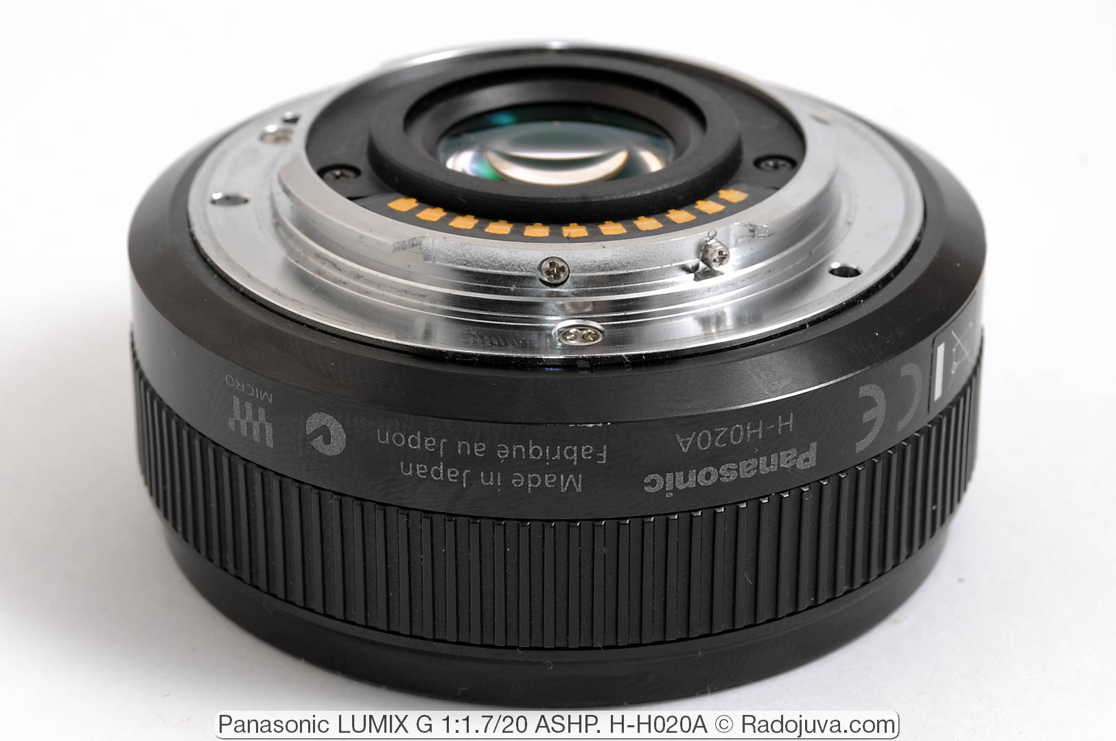 Panasonic 20mm f/1.7 ASPH LUMIX G II