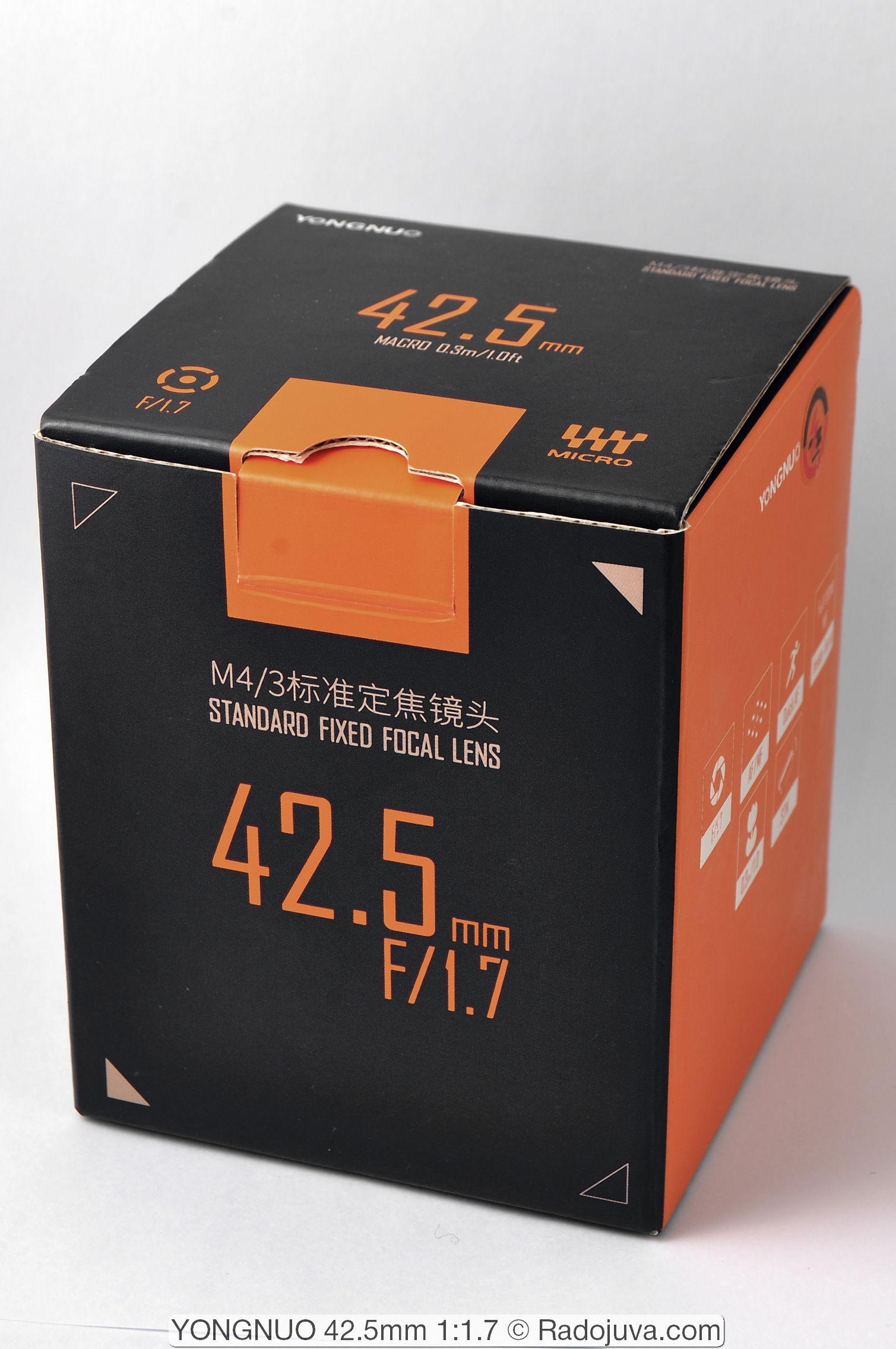 YONGNUO 42.5mm 1:1.7