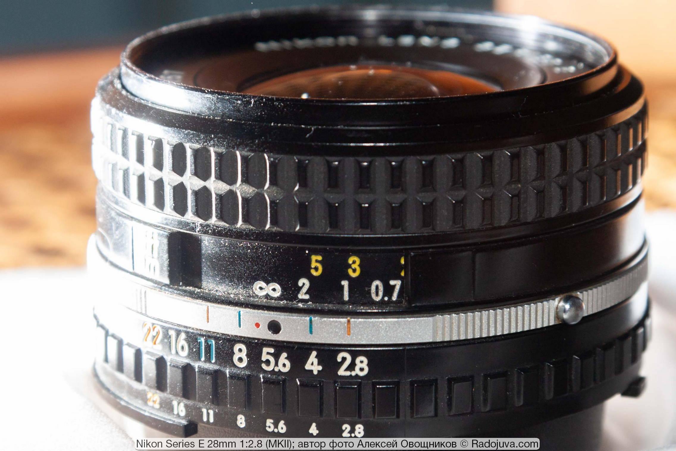 Nikon Series E 28mm 1:2.8 MKII