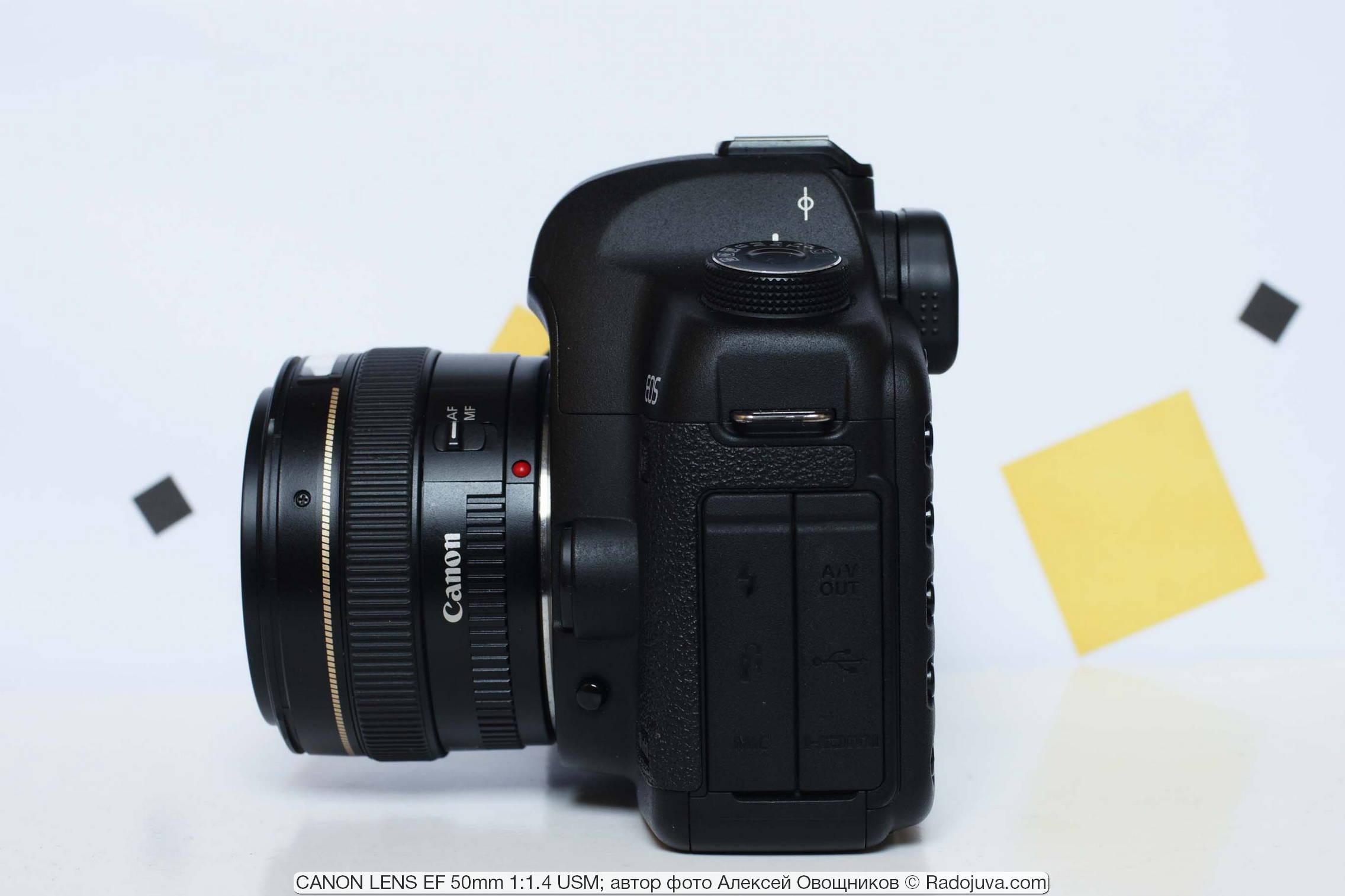 CANON LENS EF 50mm 1:1.4 USM