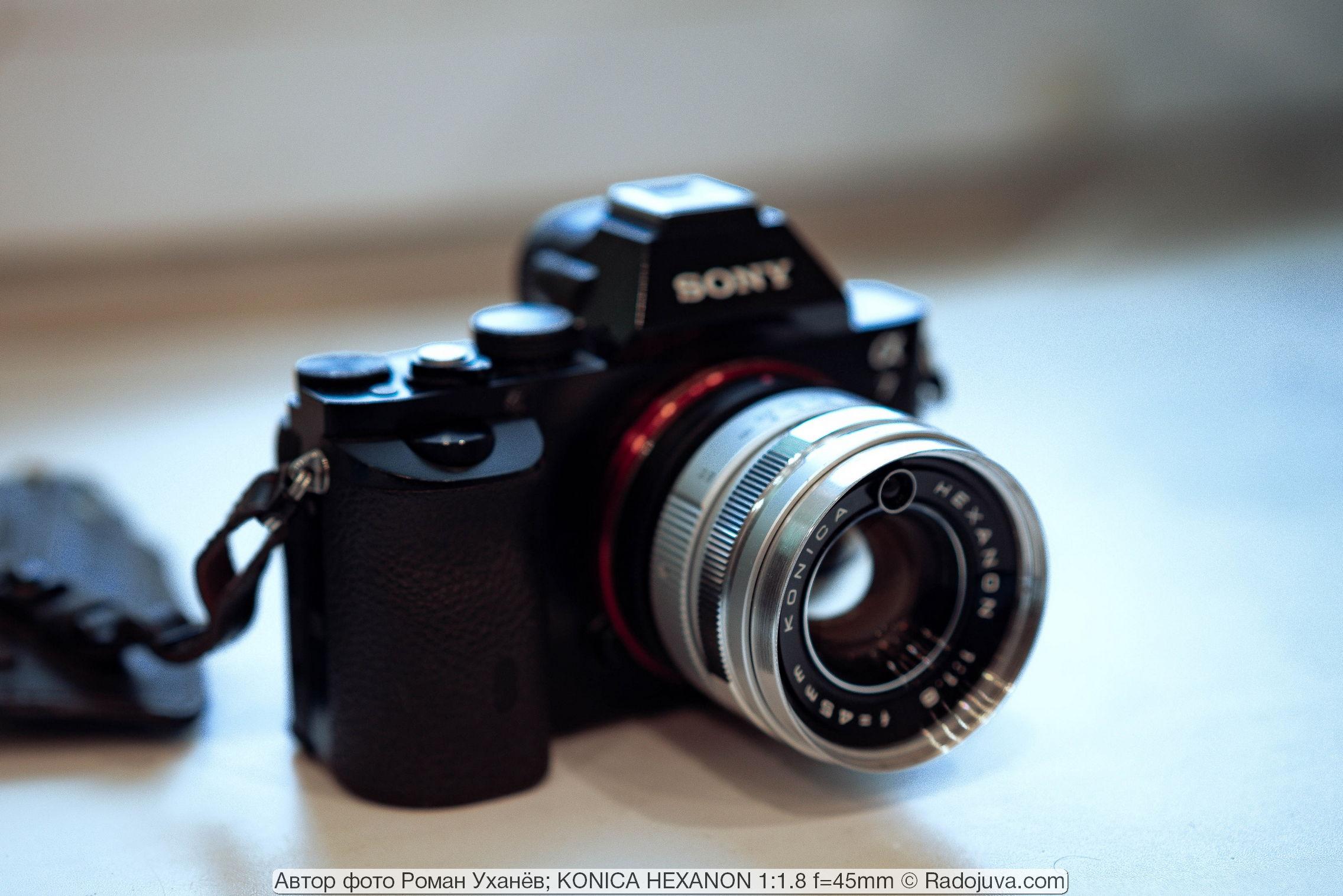 KONICA HEXANON 1:1.8 f=45mm