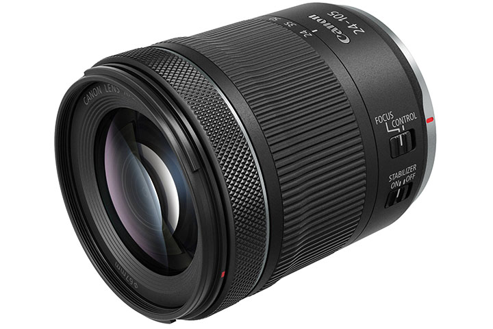 Canon Lens RF 24-105mm F4-7.1 IS STM