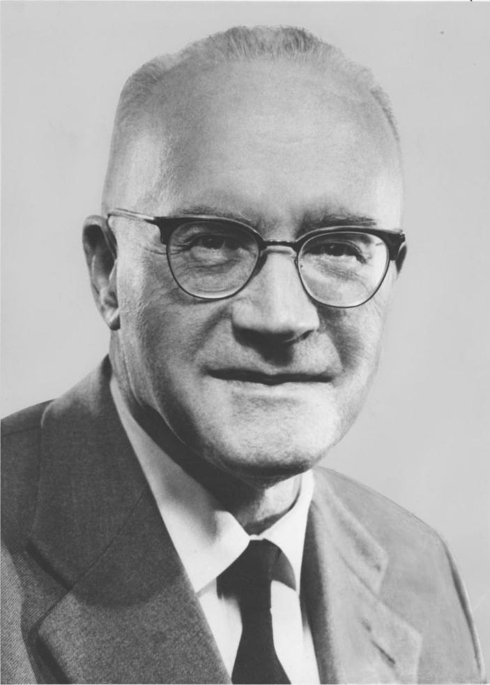 Л. Бертеле в начале 1950-х. Ист.: Википедия