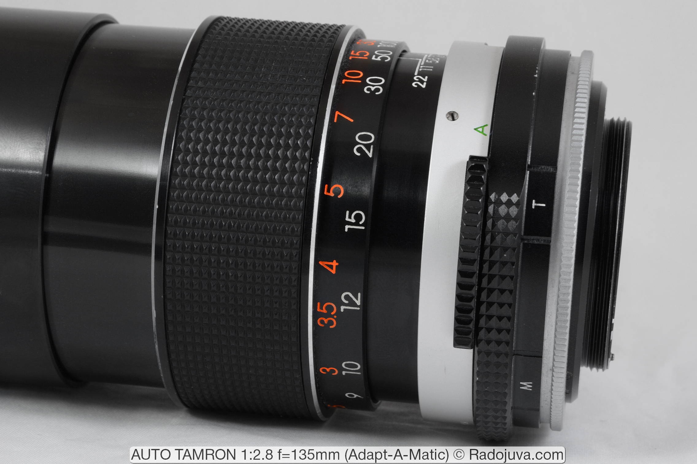 AUTO TAMRON 1:2.8 f=135mm (Adapt-A-Matic)