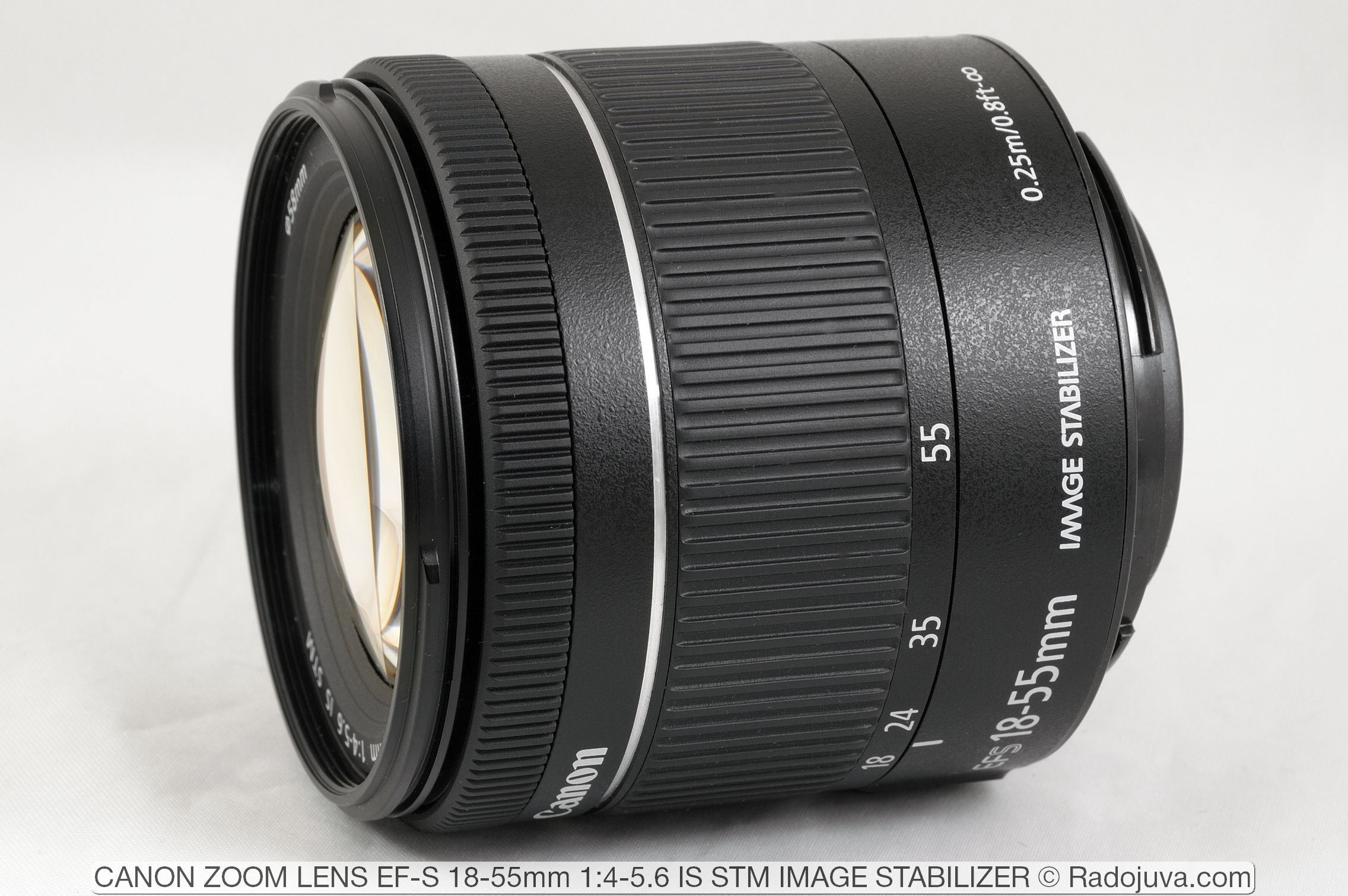 Canon Zoom Lens EF-S 18-55mm 1:4-5.6 IS STM Image Stabilizer