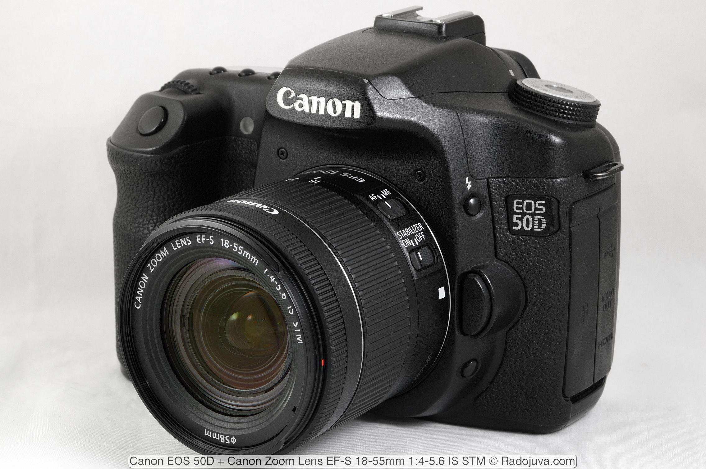 Canon EOS 50D с объективом
