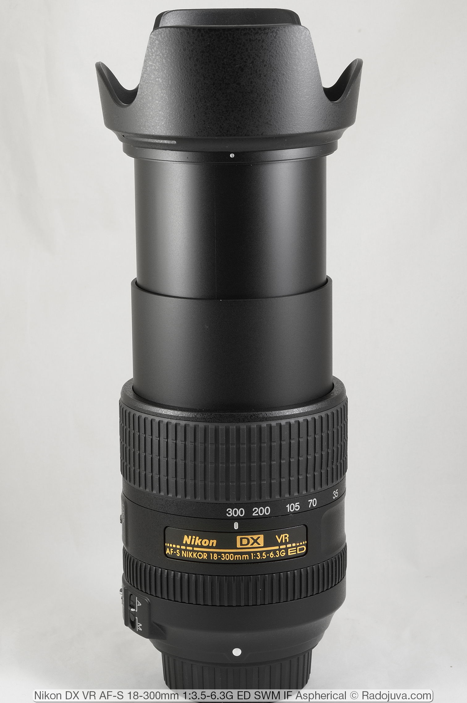 Nikon DX VR AF-S 18-300mm 1:3.5-6.3G ED SWM IF Aspherica