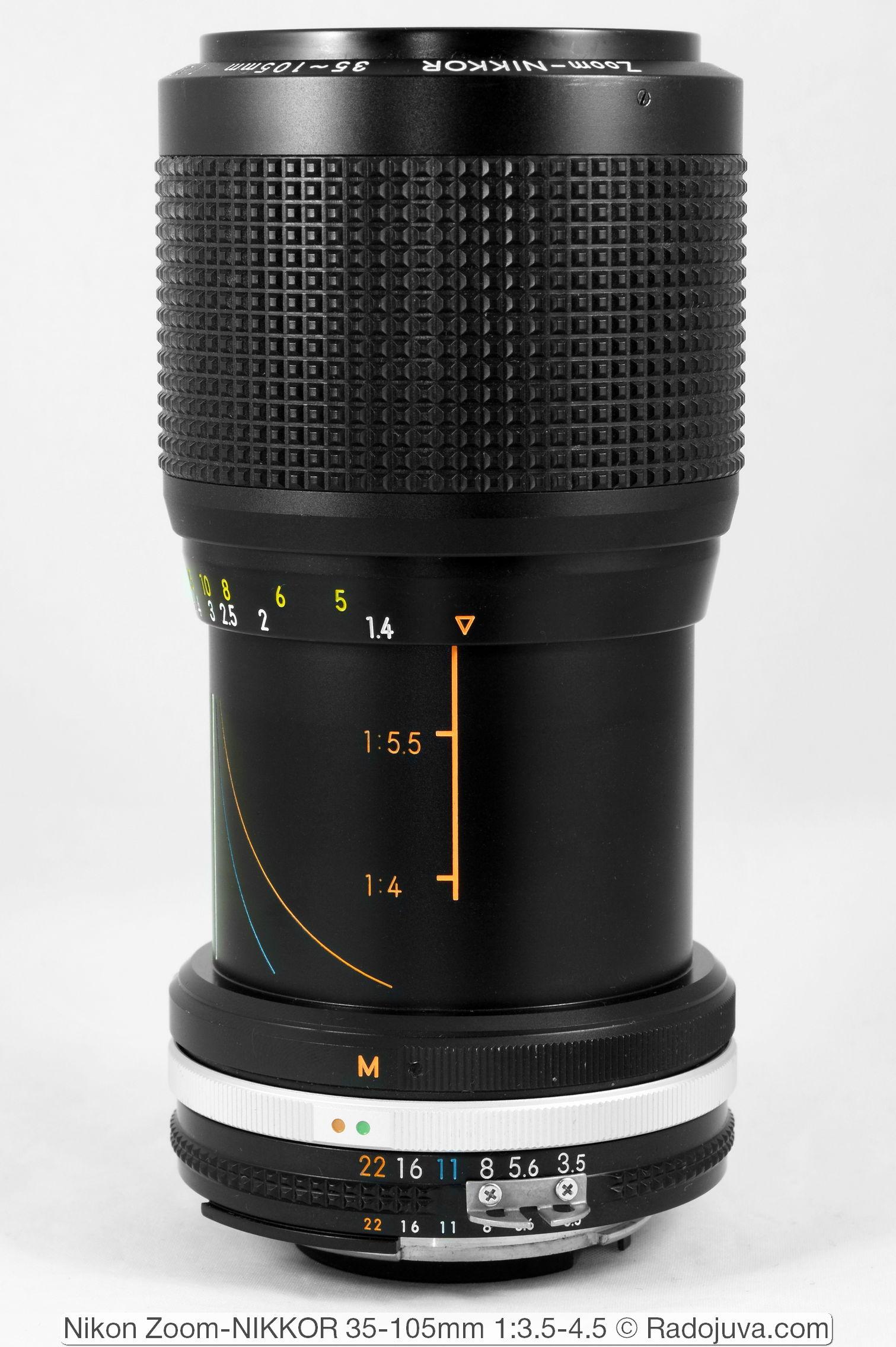 Nikon Zoom-NIKKOR 35-105mm 1:3.5-4.5 AI-S