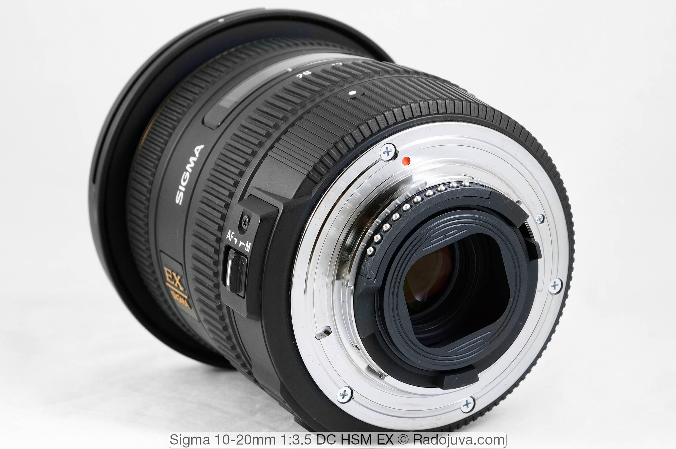 Sigma 10-20mm 1:3.5 DC HSM EX