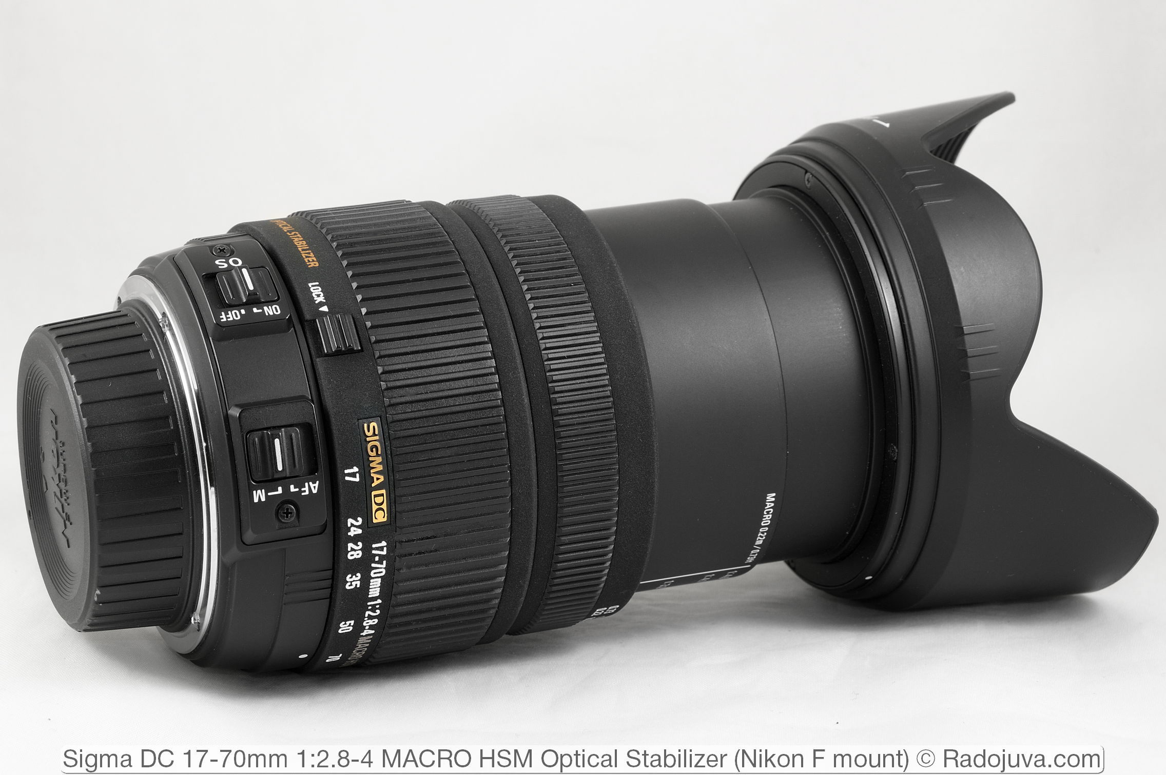 Sigma DC 17-70mm 1:2.8-4 MACRO HSM Optical Stabilizer