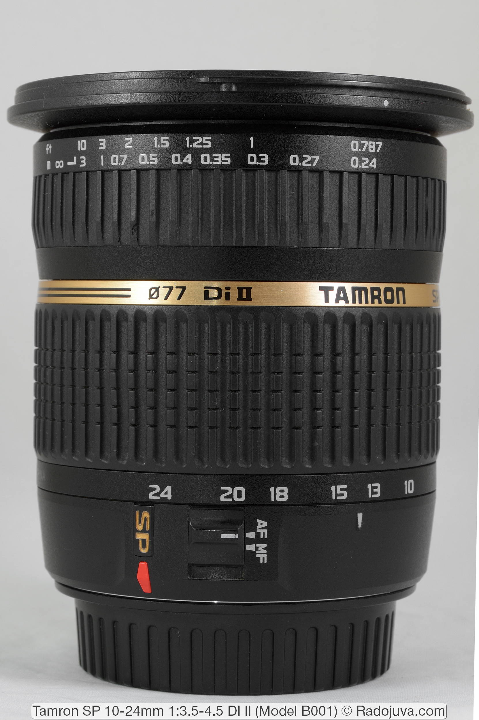 Tamron SP 10-24mm 1:3.5-4.5 DI II (Model B001)