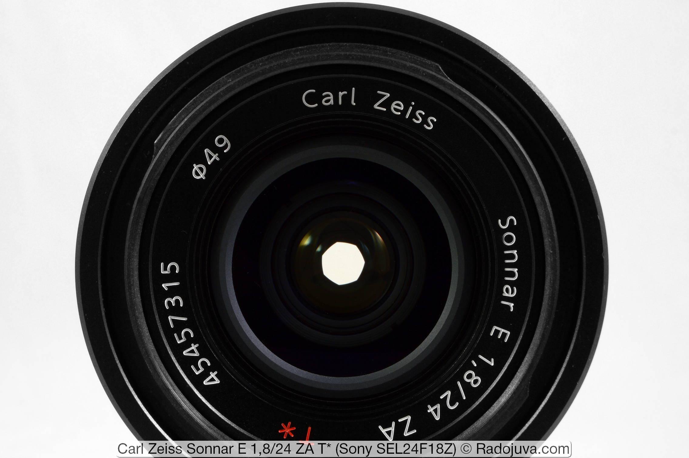 Carl Zeiss Sonnar E 1,8/24 ZA T* (Sony SEL24F18Z)