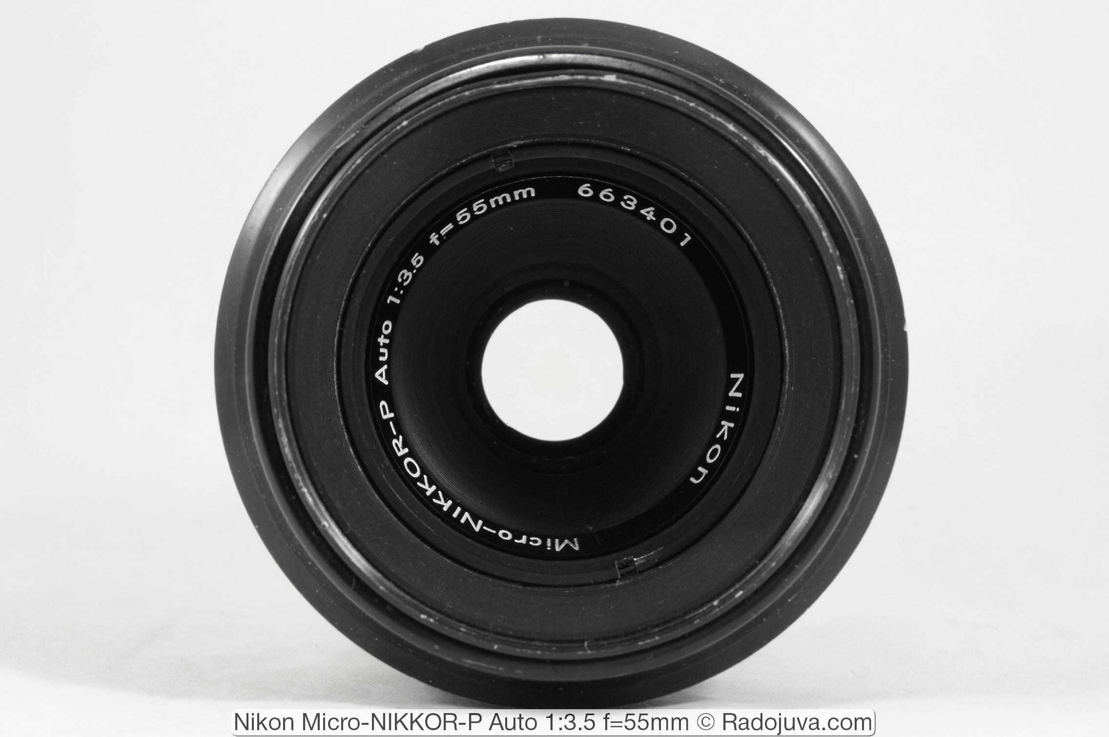 Nikon Micro-NIKKOR-P Auto 1: 3.5 f = 55mm