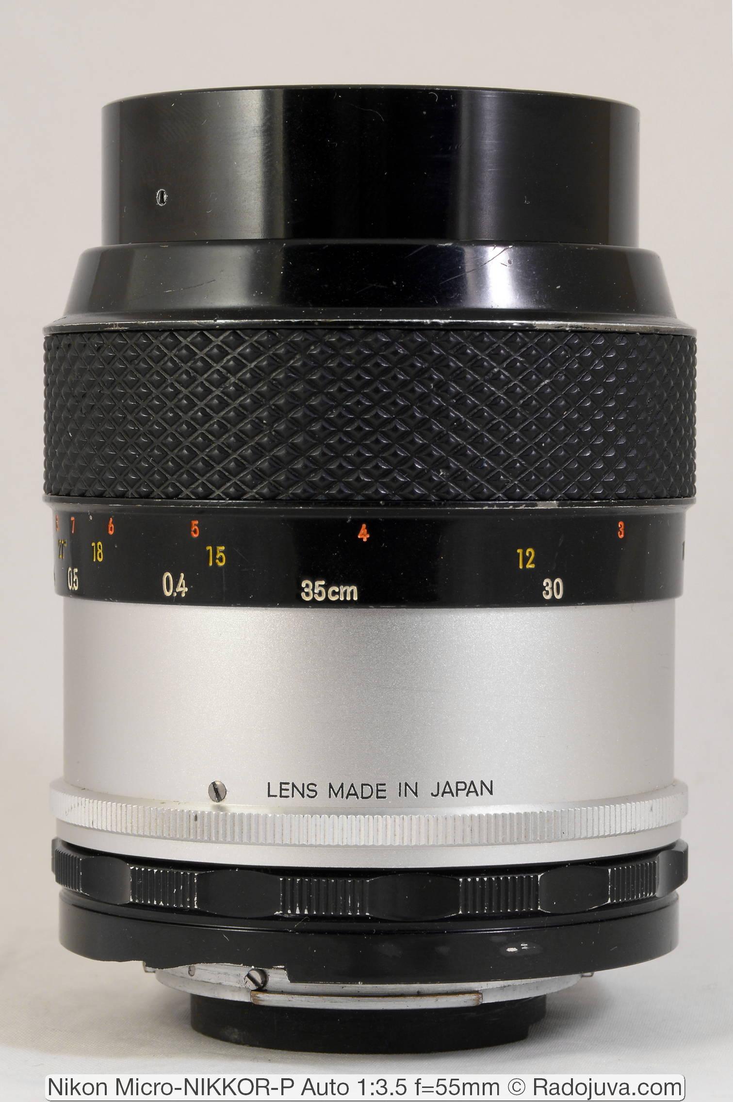 Nikon Micro-NIKKOR-P Auto 1:3.5 f=55mm