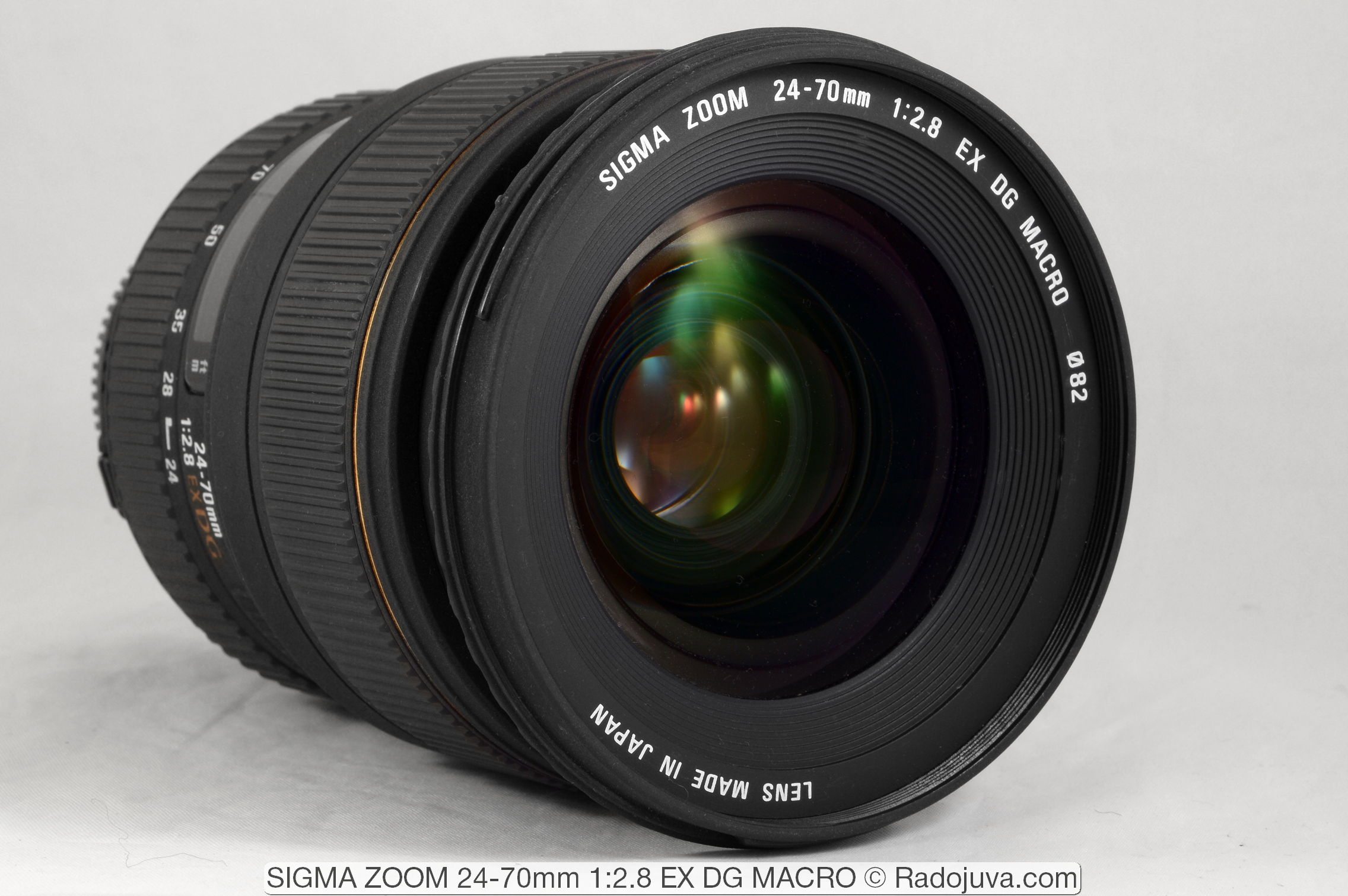 SIGMA ZOOM 24-70mm 1:2.8 EX DG MACRO