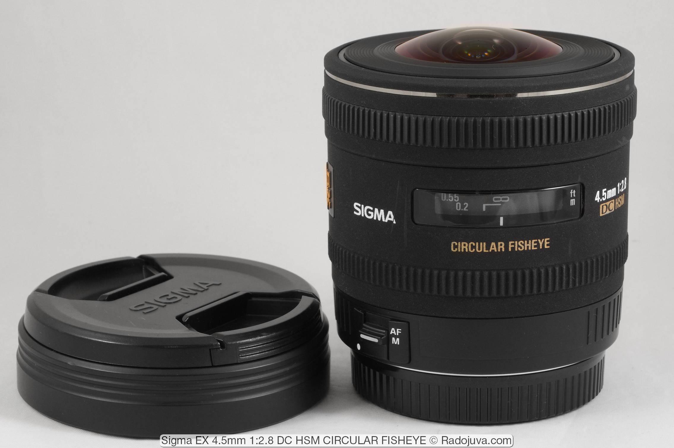 Sigma EX 4.5mm 1: 2.8 DC HSM CIRCULAR FISHEYE
