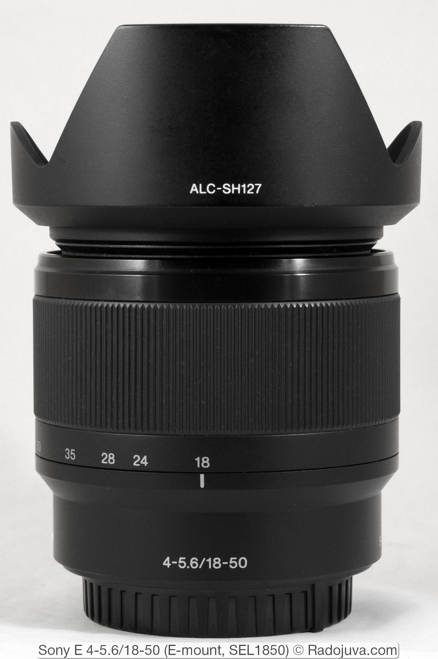 Sony E 4-5.6/18-50 (E-mount, SEL1850)