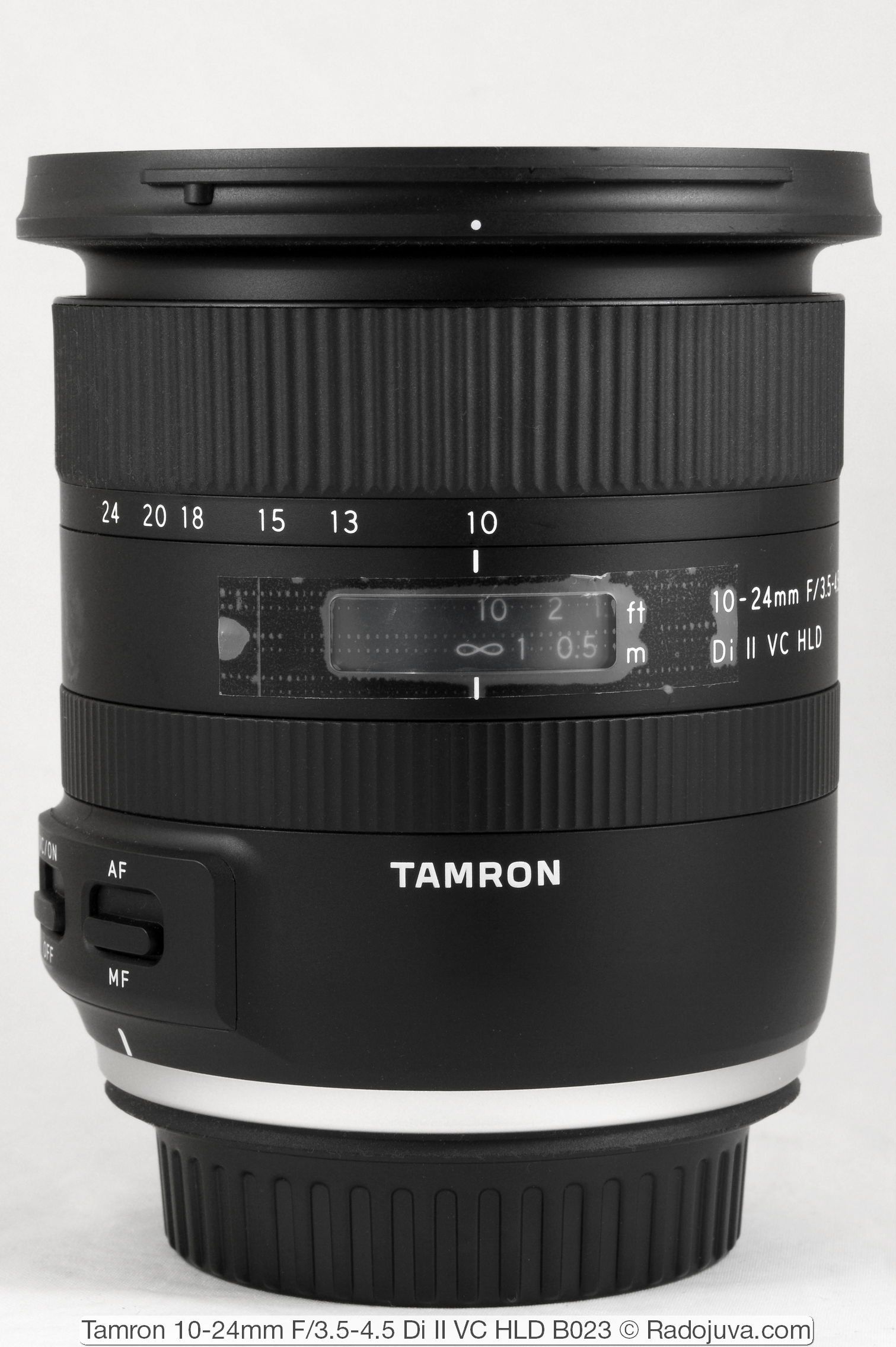 Tamron 10-24mm F/3.5-4.5 Di II VC HLD B023