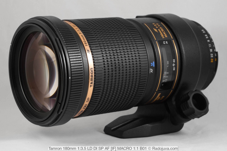 Tamron 180mm 1: 3.5 LD DI SP AF [IF] MACRO 1: 1