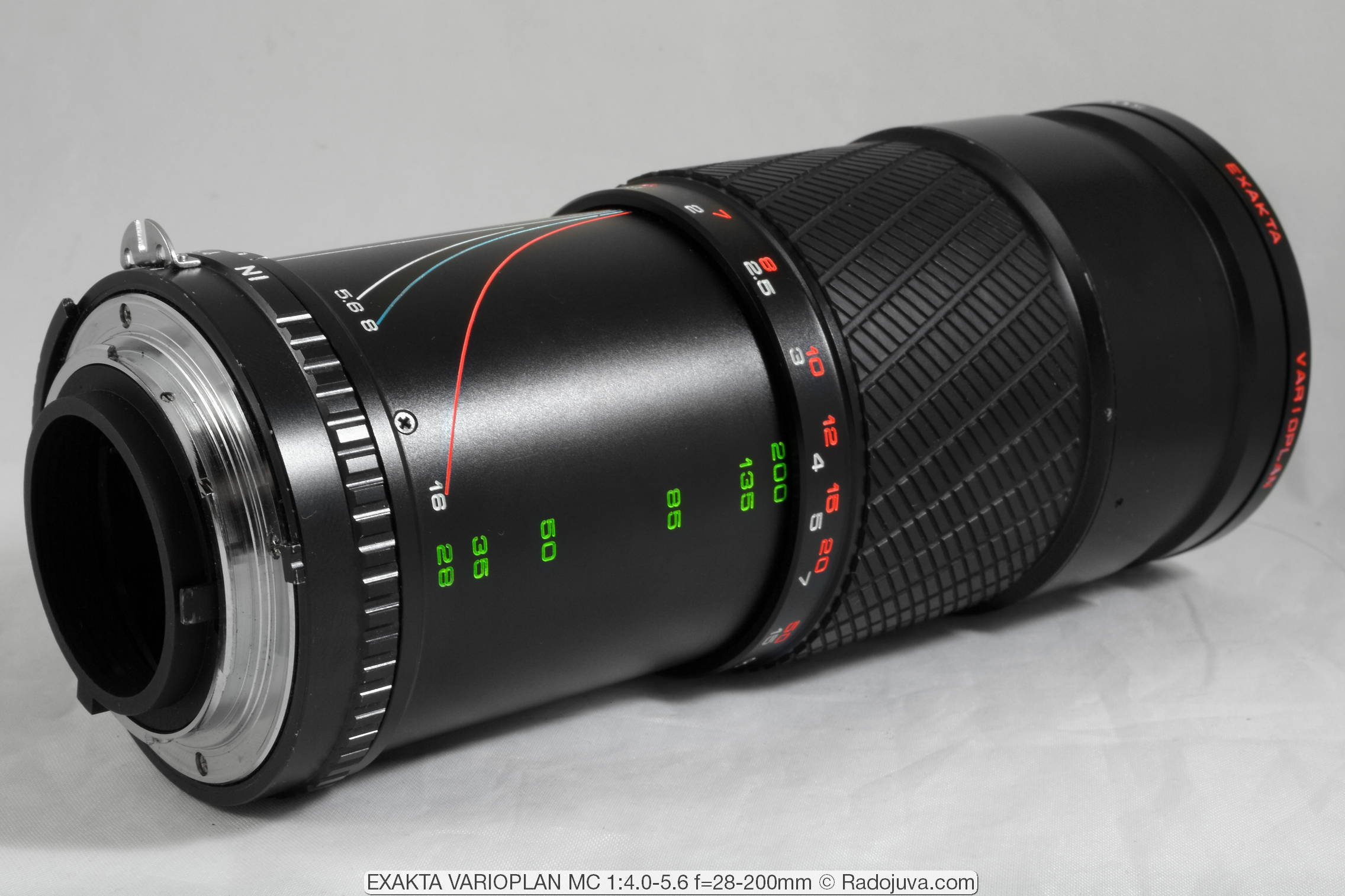 EXAKTA VARIOPLAN MC 1:4.0-5.6 f=28-200mm