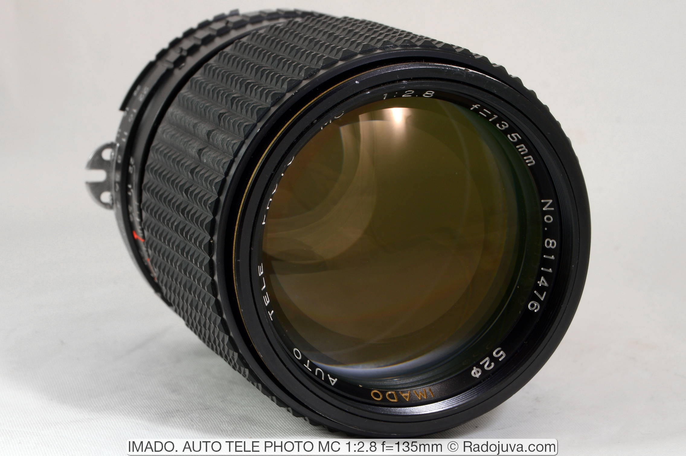 IMADO. AUTO TELE PHOTO MC 1:2.8 f=135mm