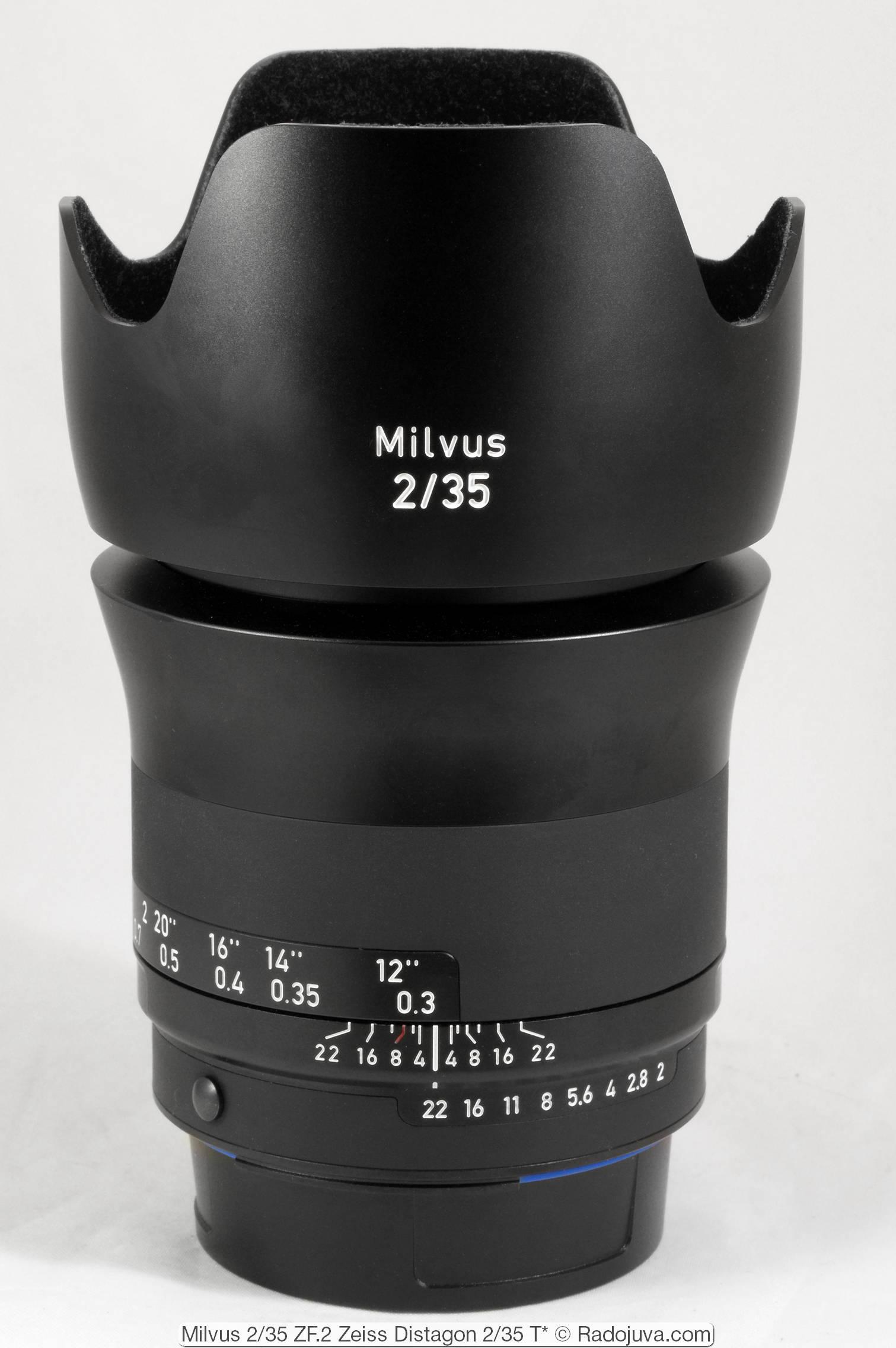 Milvus 2/35 ZF.2 (Zeiss Distagon 2/35 T*)