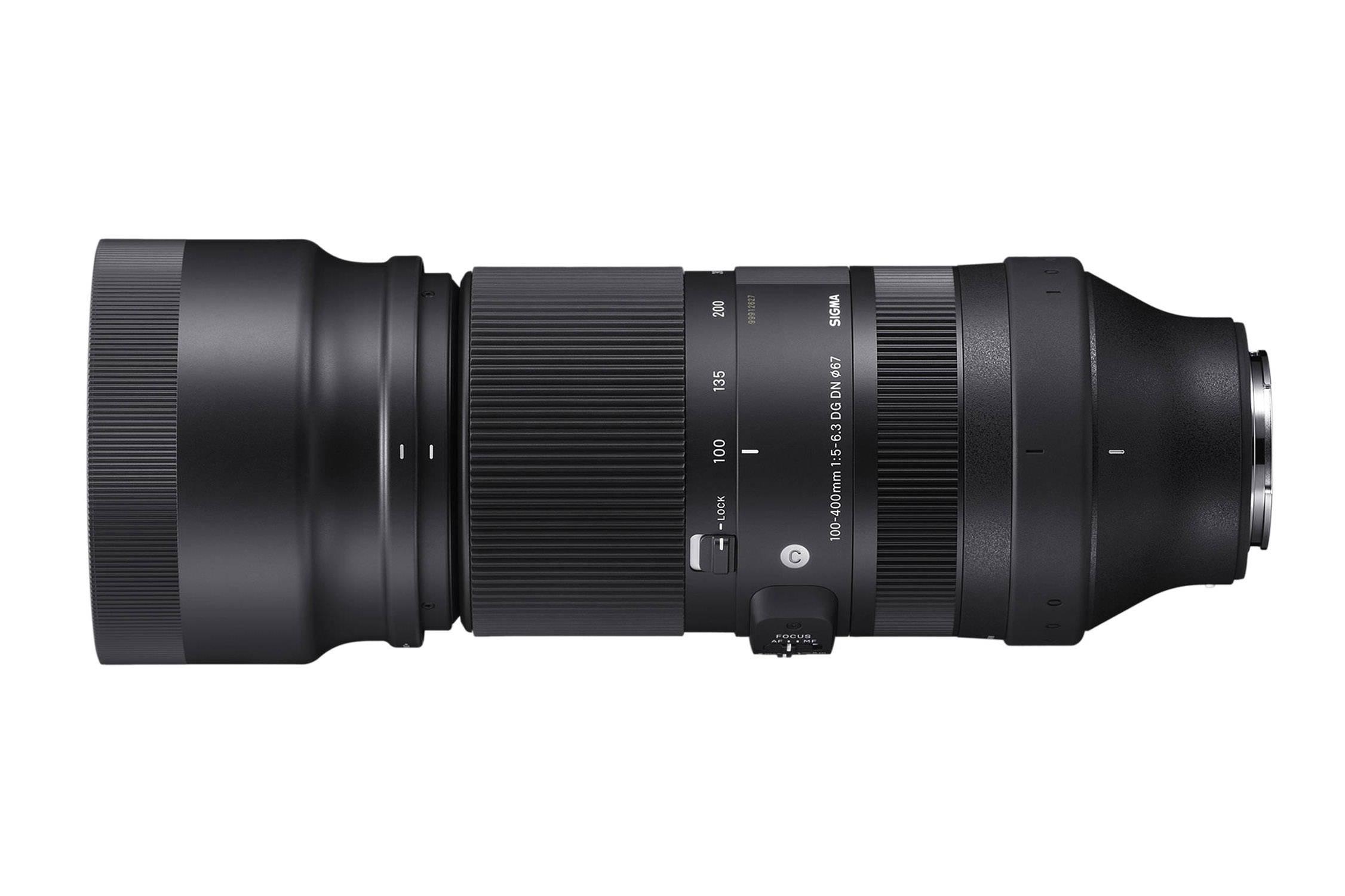 Sigma 100-400 1:5-6.3 DG DN C | Contemporary