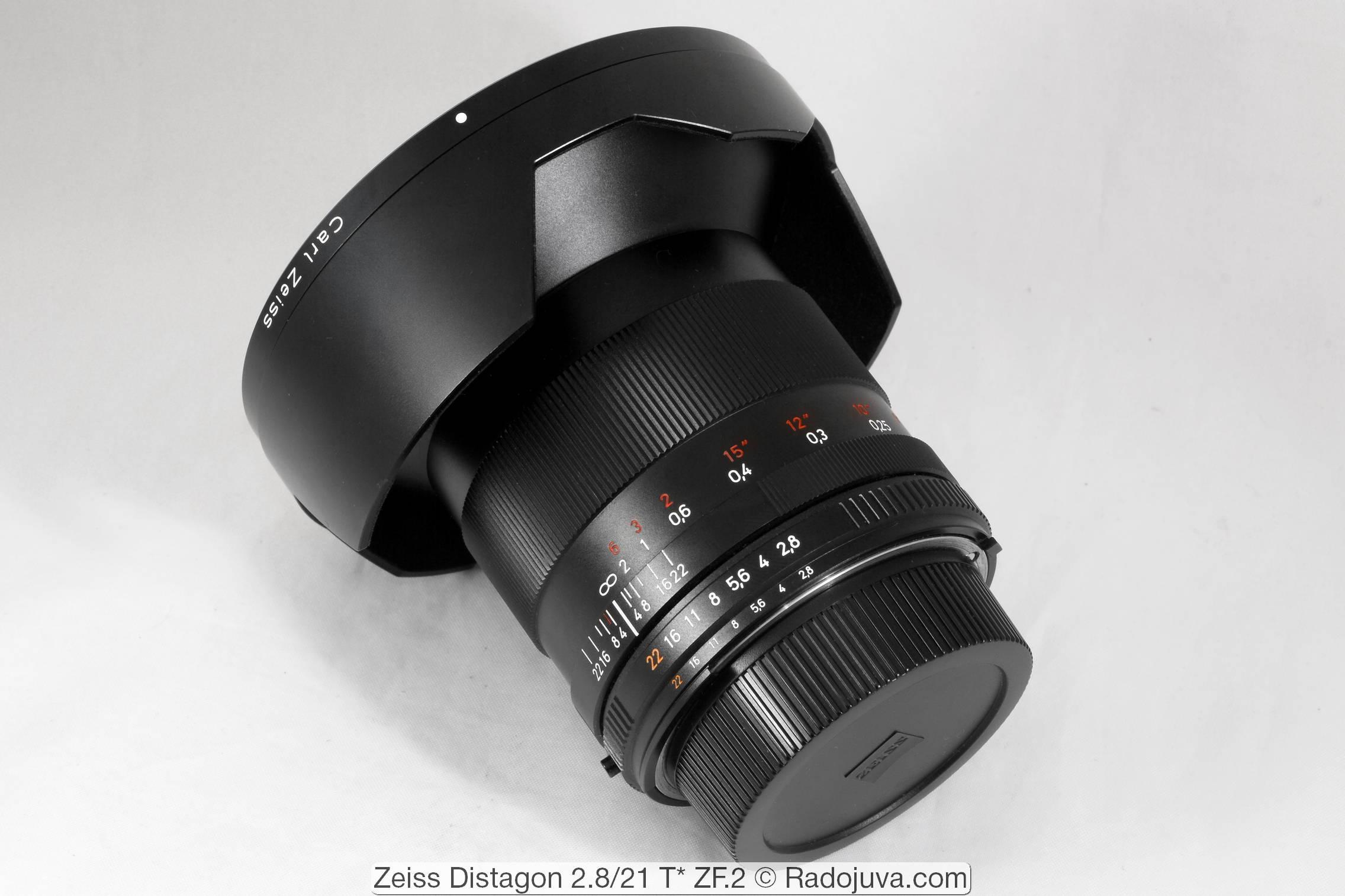 Carl Zeiss Distagon 2.8 / 21 T * ZF.2