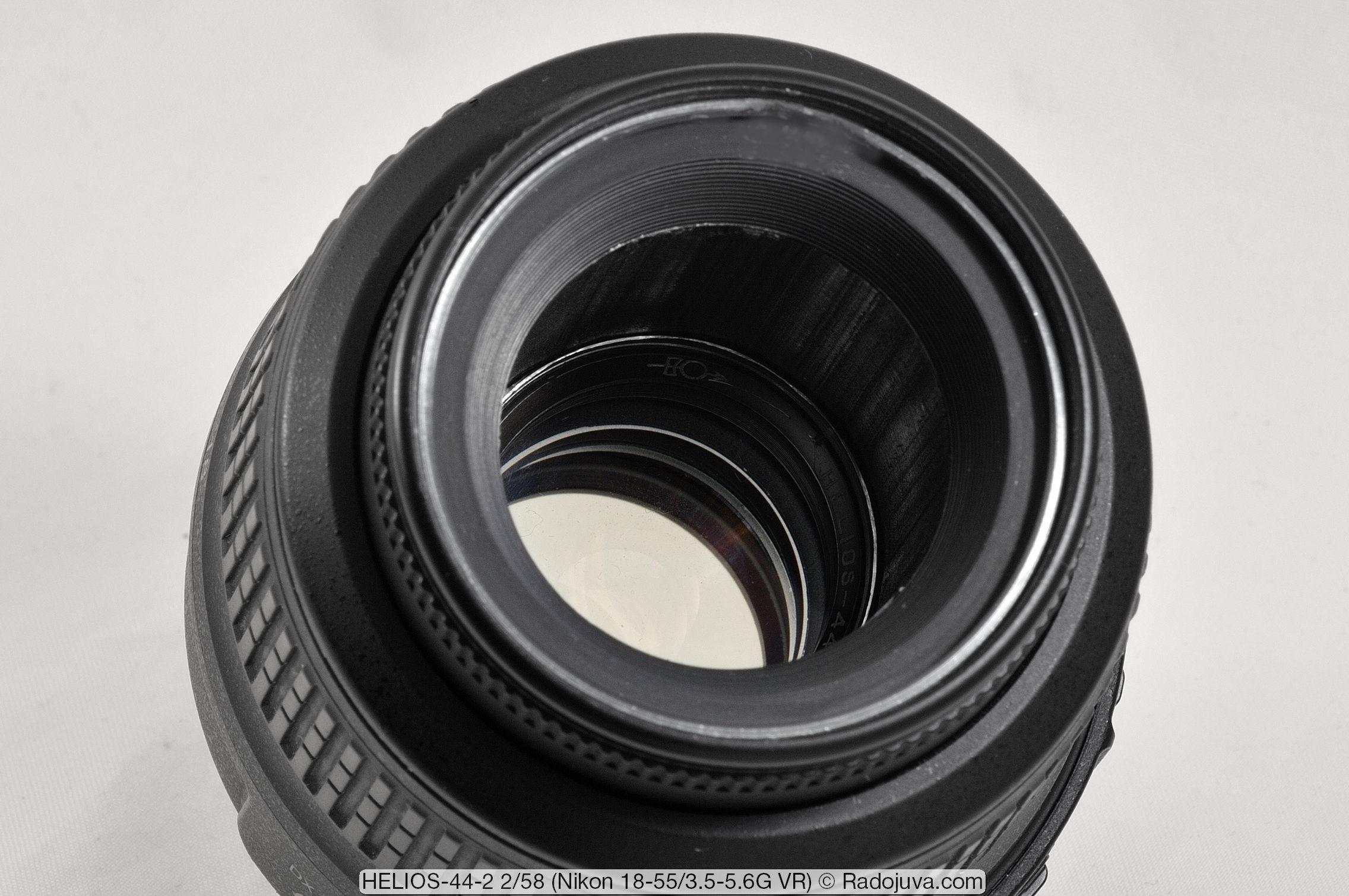 HELIOS-44-2 F2 58mm с ультразвуковым мотором и стабилизатором изображения