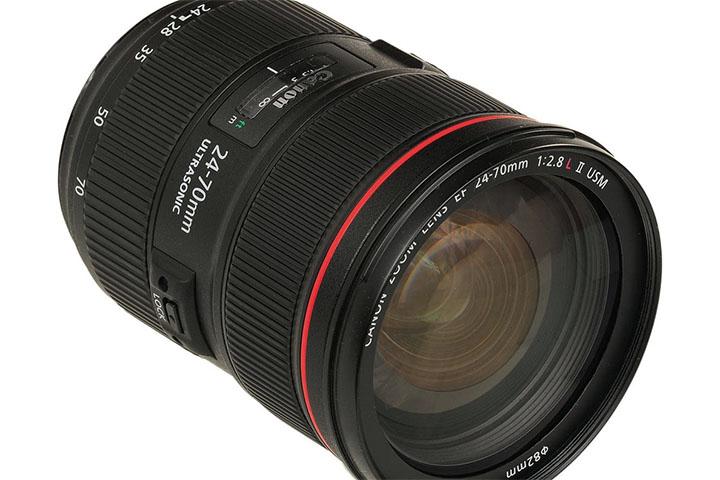 Canon Zoom Lens EF 24-70 1:2.8 L II USM