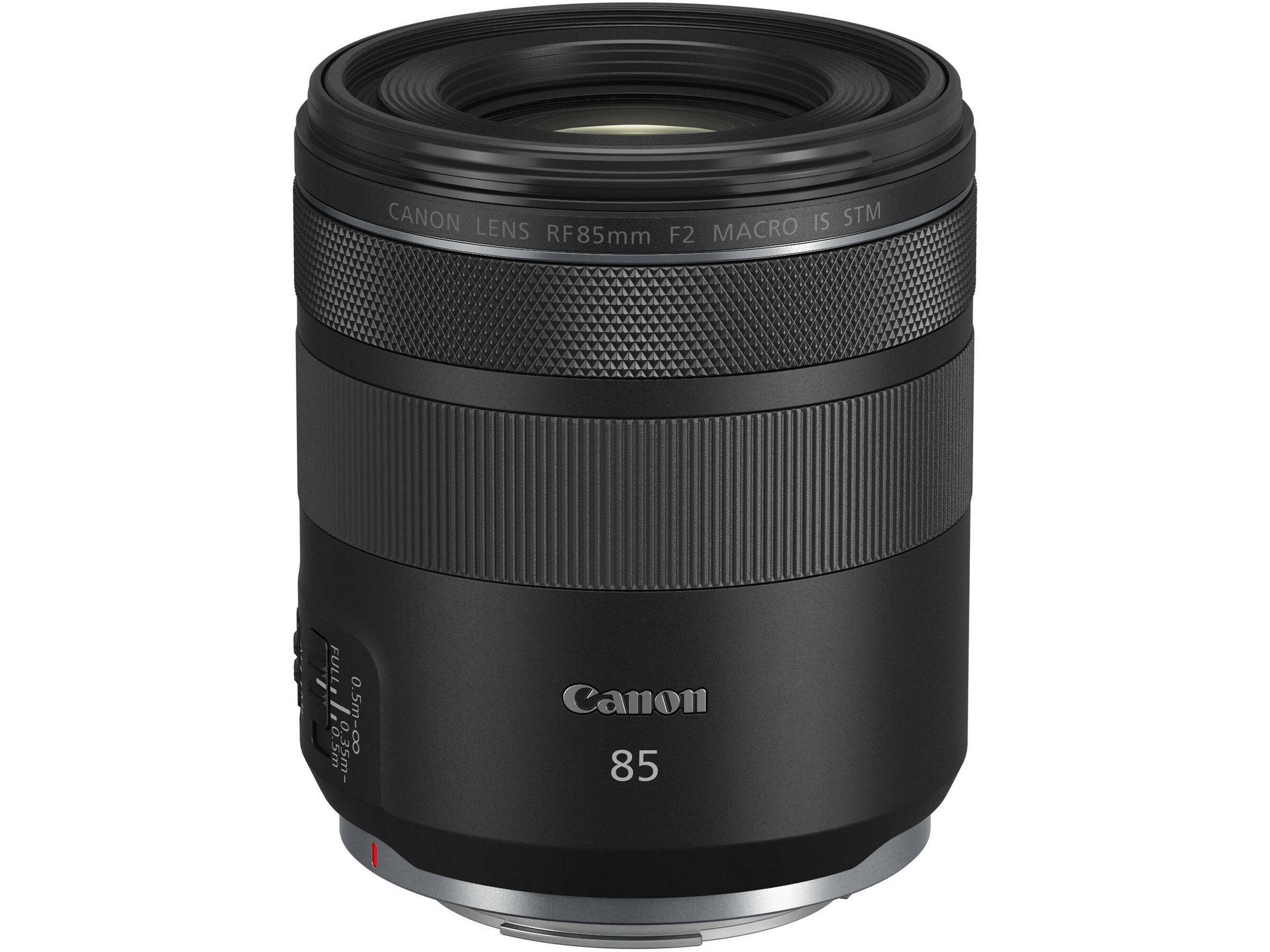 Canon Lens RF 85mm F2 MACRO IS STM